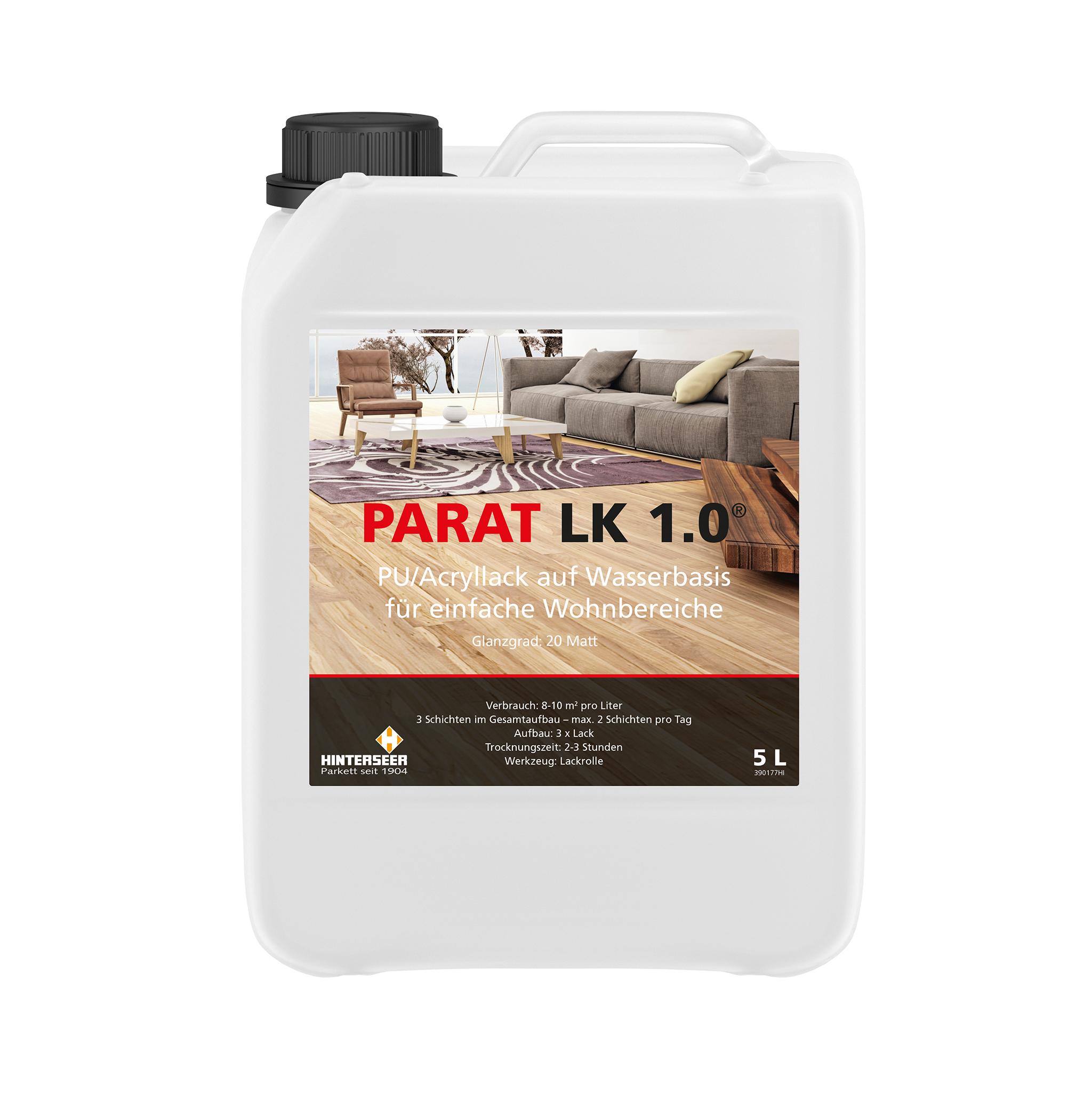 PARAT LK 1.0 Parkettlack 5 Ltr.