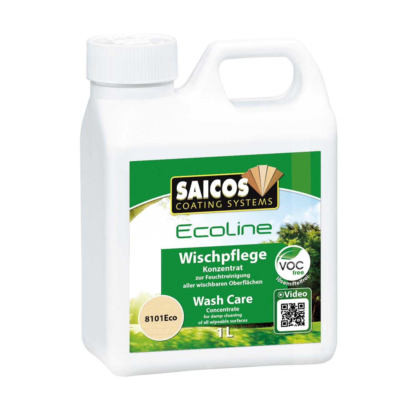 SAICOS Eco Wischpflege farblos 1 Ltr.