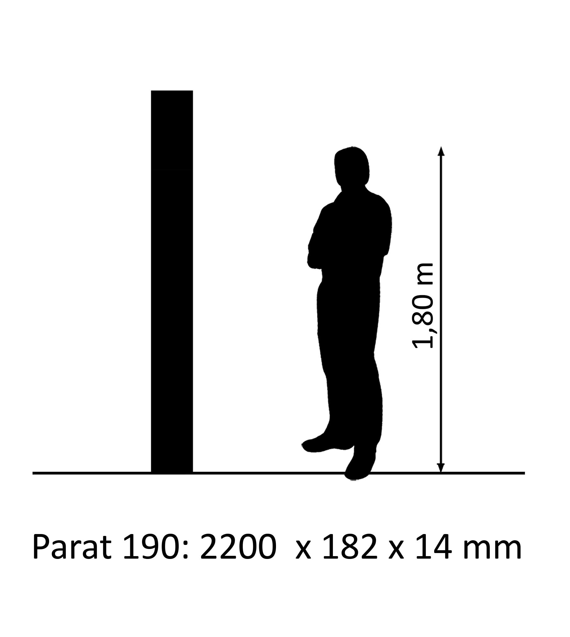 PARAT 190 Oak avantgarde 3-Strip