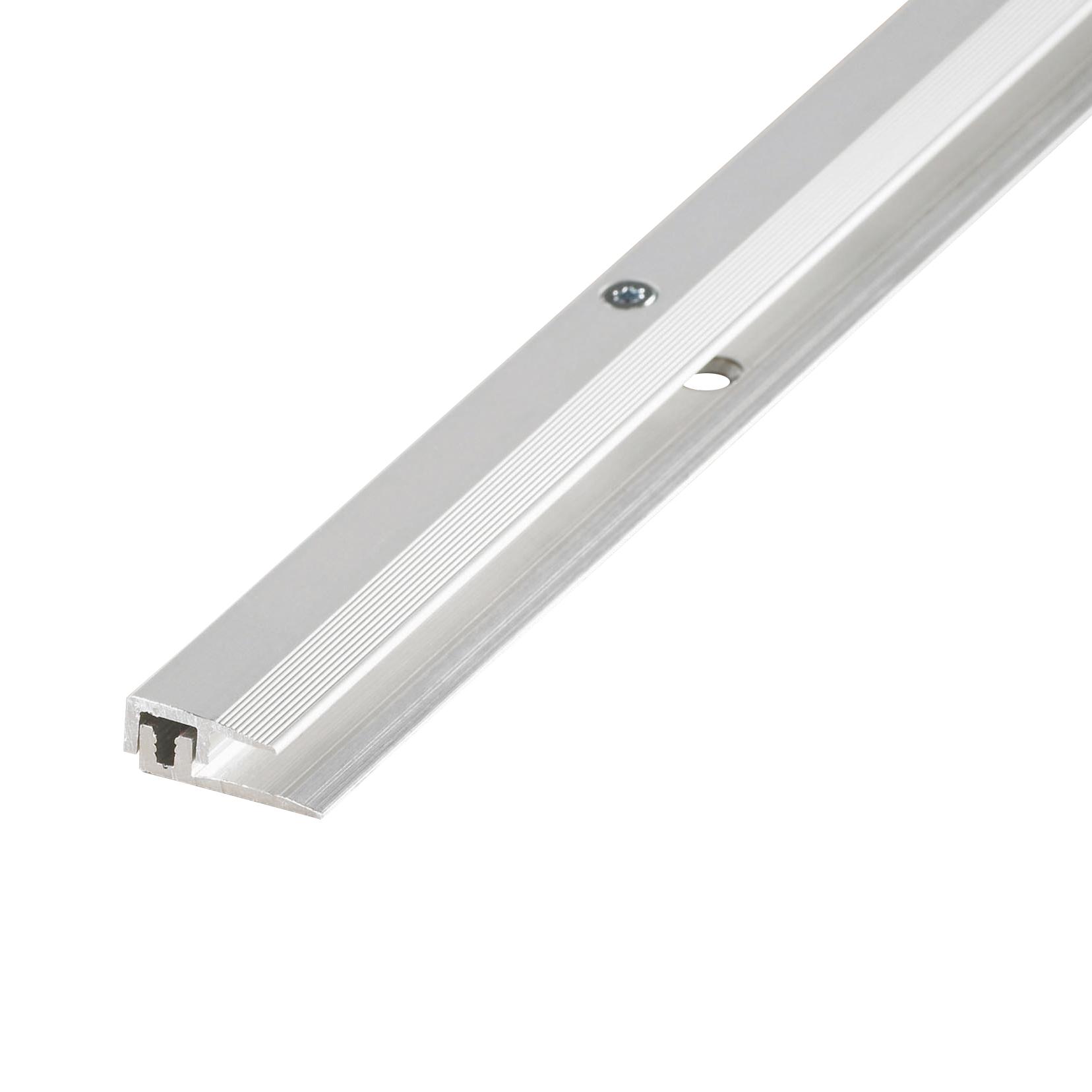 End profile aluminium silver 4-9mm