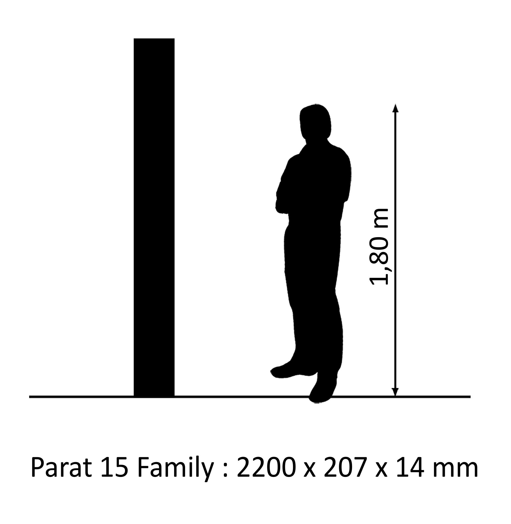 PARAT 15 Eiche Family SB Mattlack 14mm