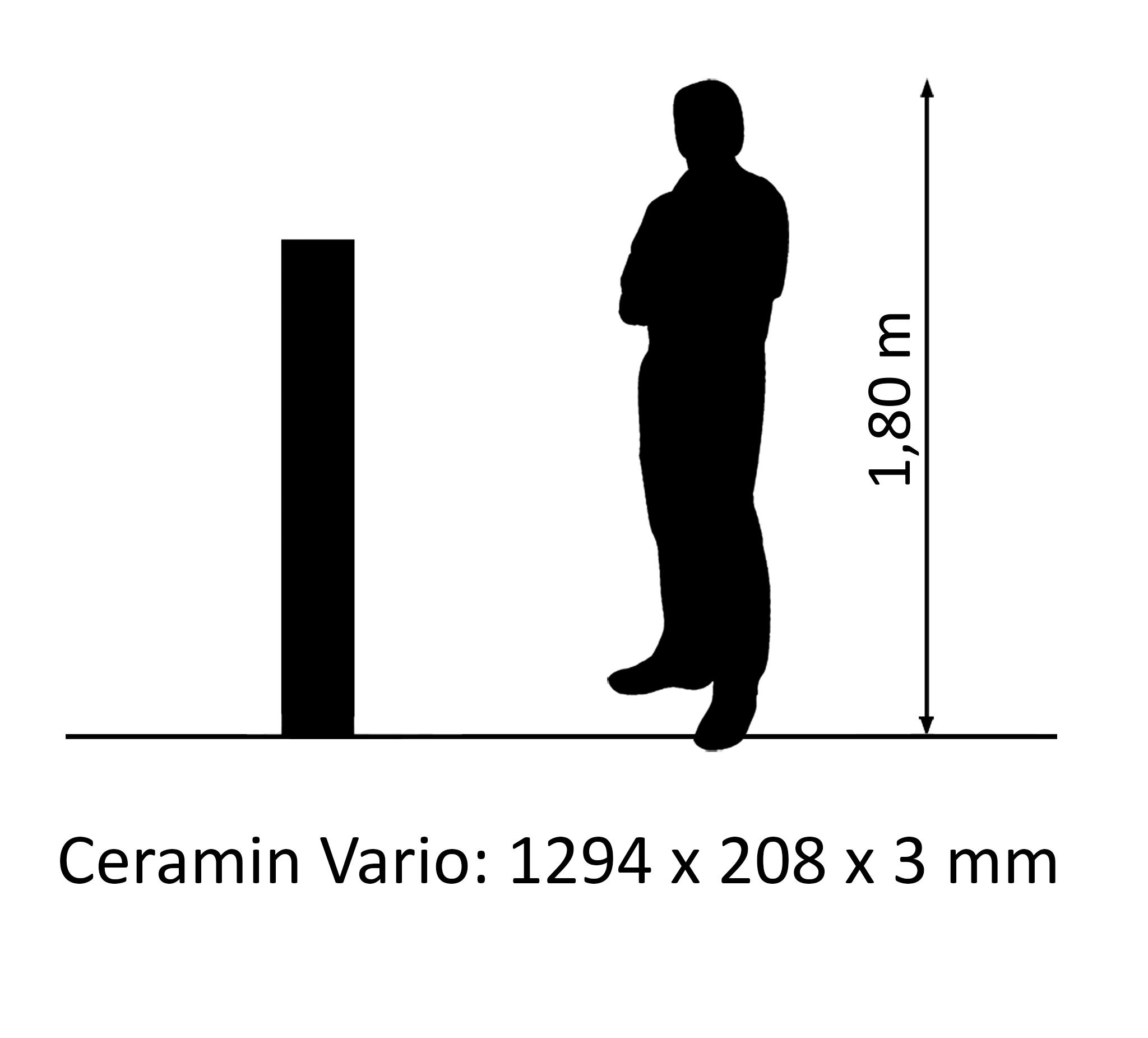 Ceramin Vario Lärche Schwarz