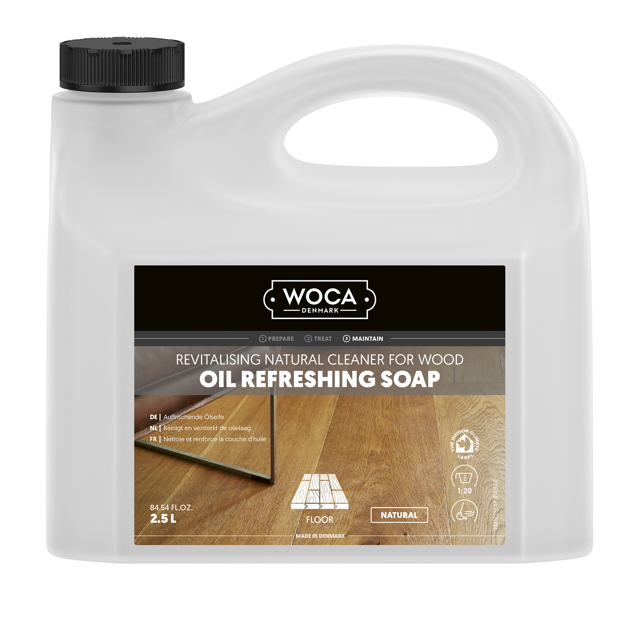 WOCA oil-refresher nature 2,5 Ltr.