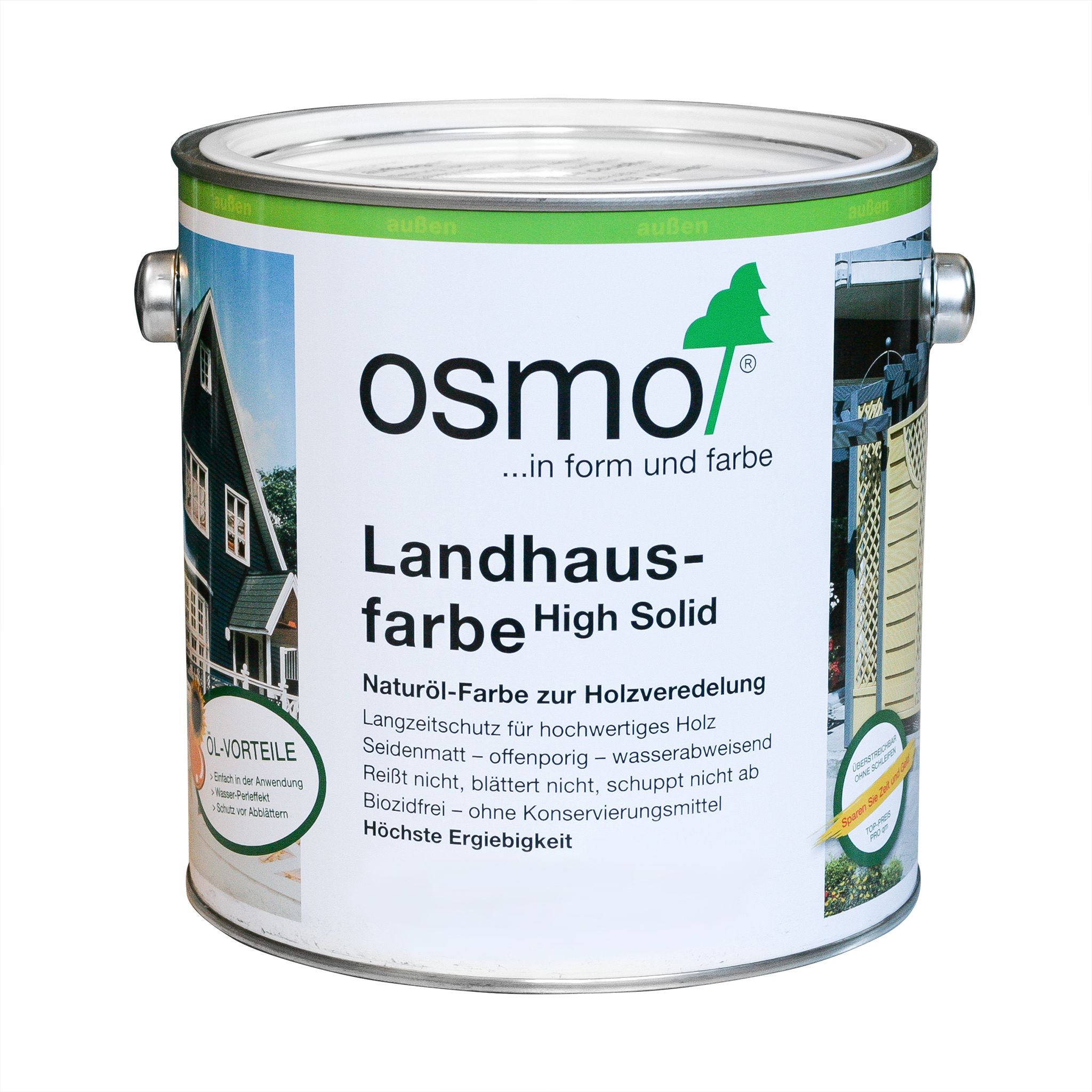 Osmo country colour dove blue 2,5 Ltr.