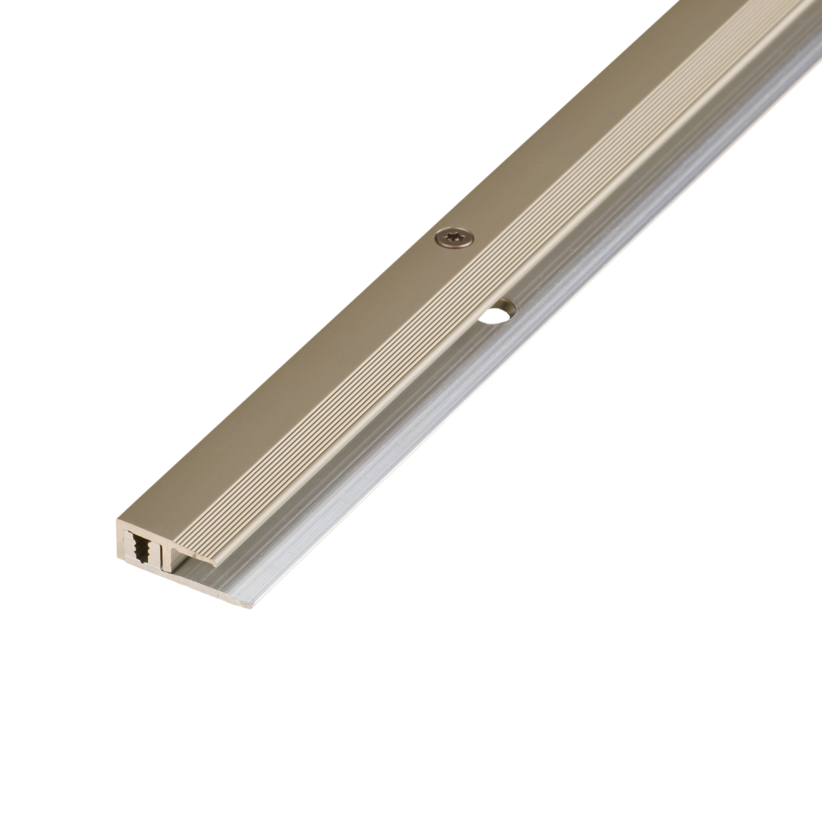 End profile alu stainless steel 4-9mm