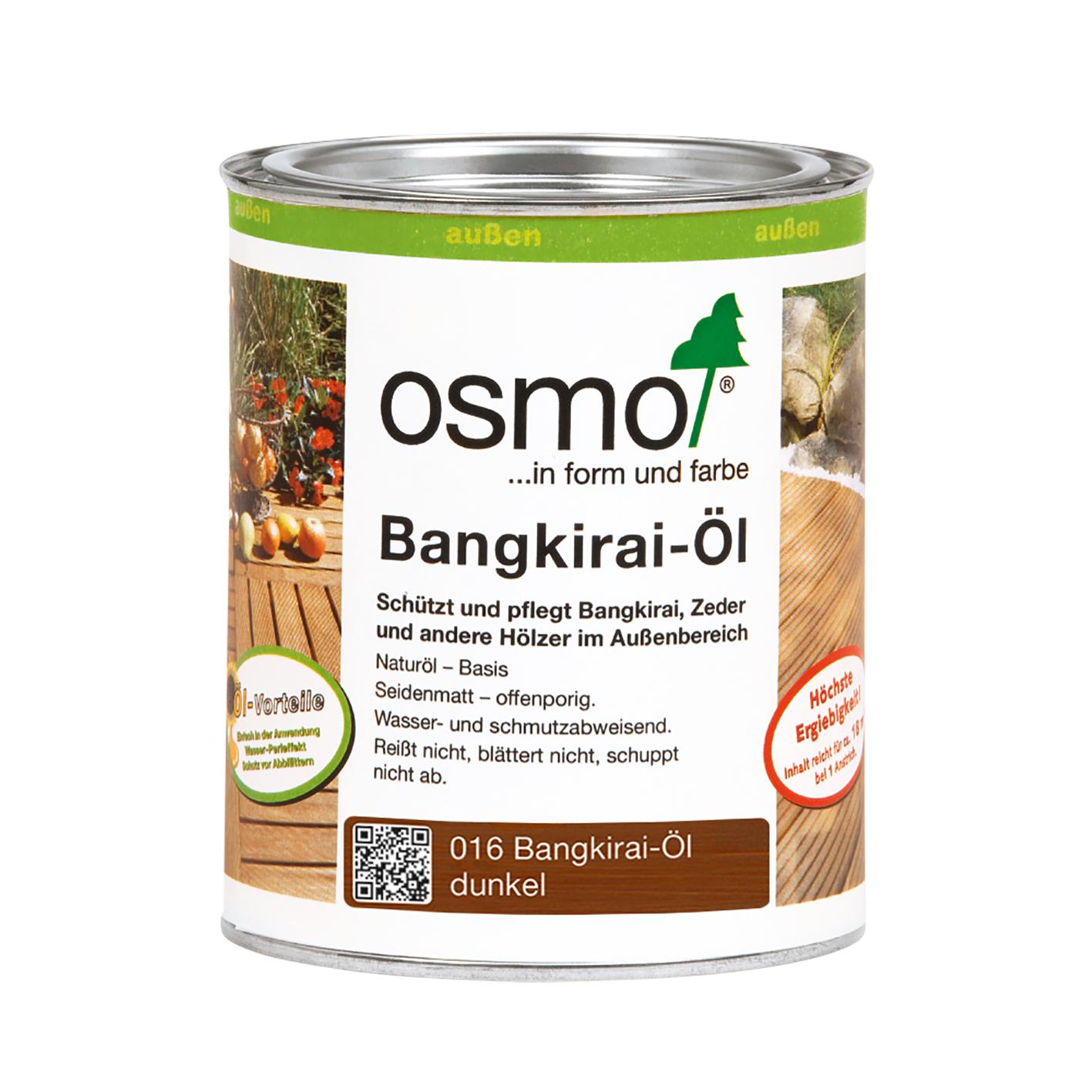 Osmo Bangkirai-oil dark 2,5 Ltr.