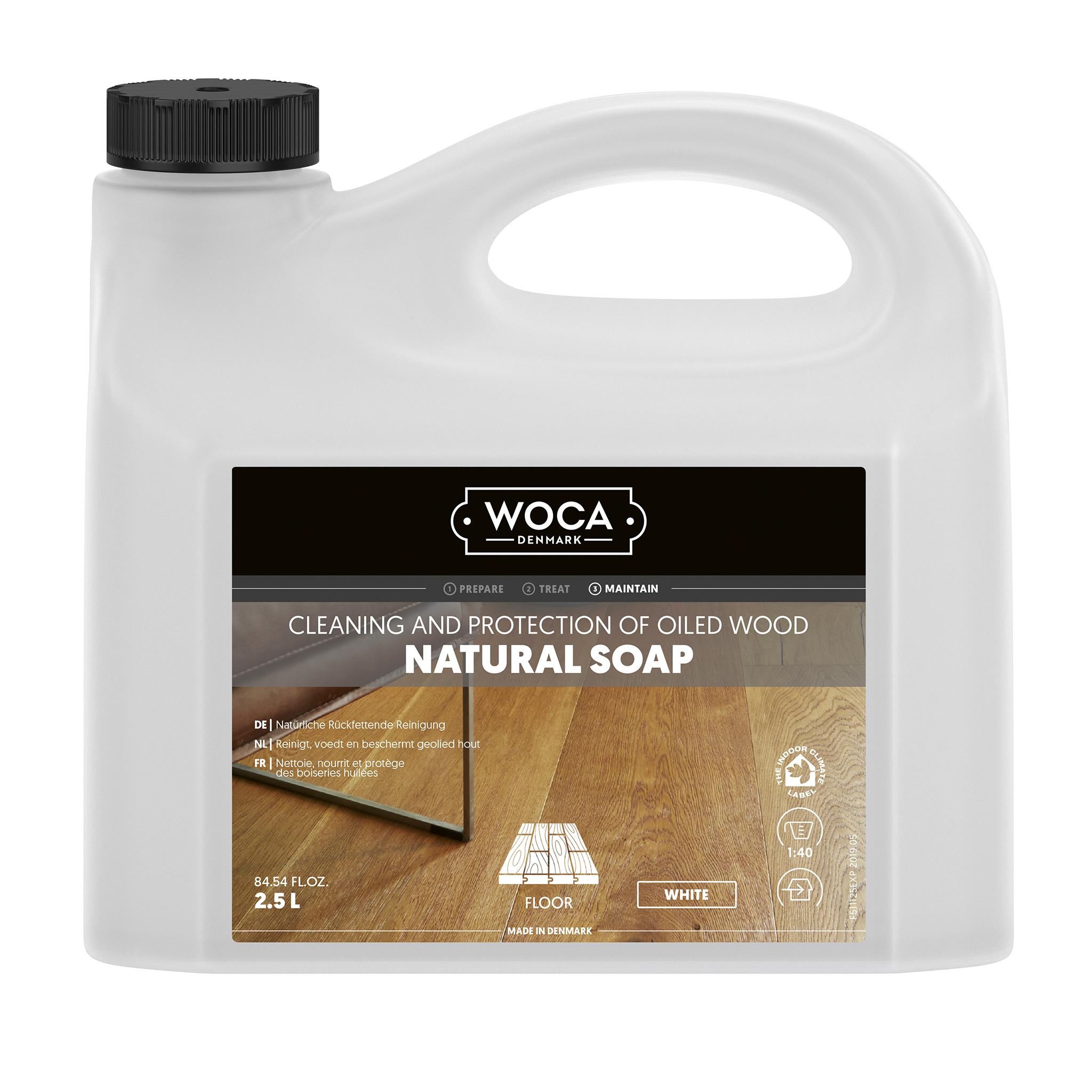 WOCA Holzbodenseife weiß 2,5 Ltr.