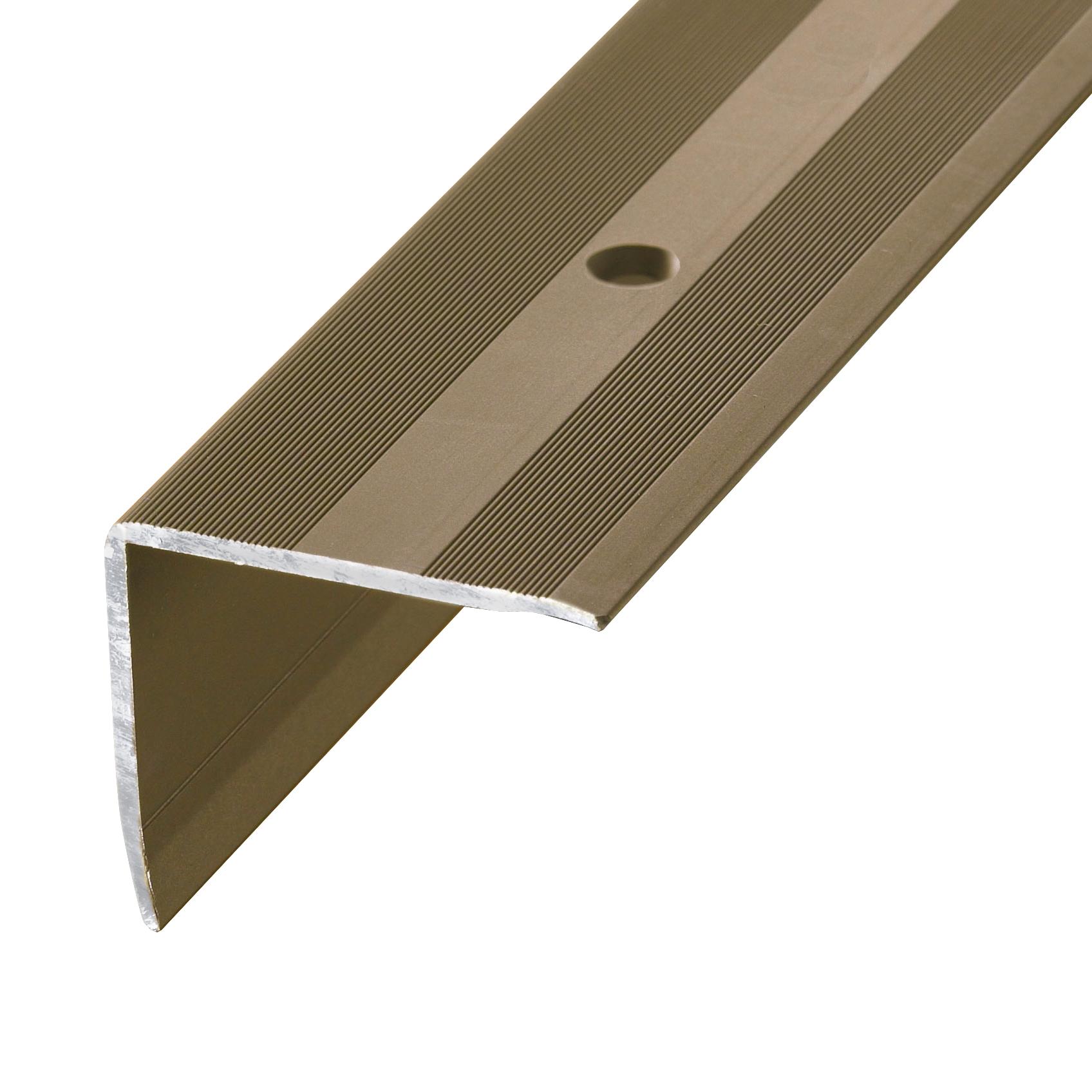 Stair nosing profile alu bronze