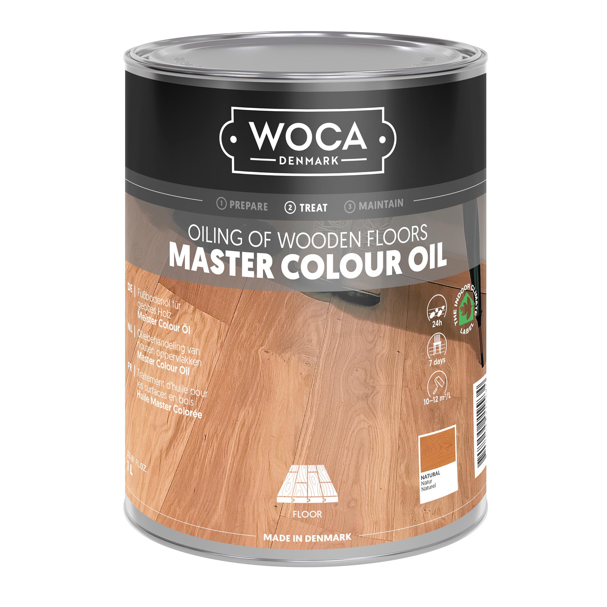 WOCA Meister Bodenöl natur 1,0 ltr.