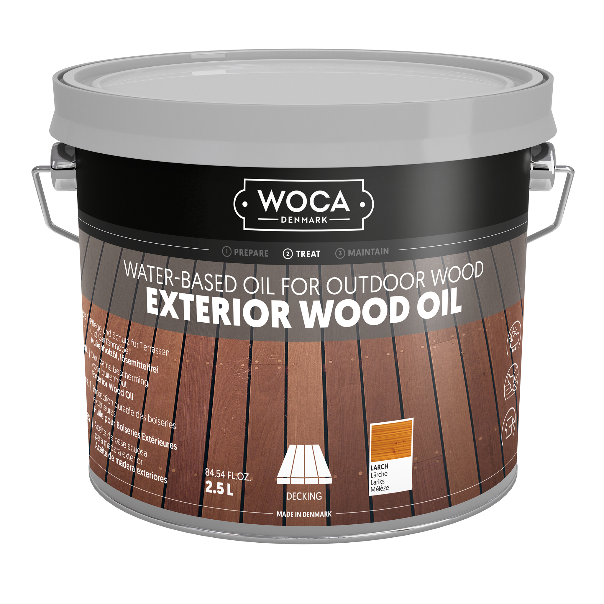 WOCA Exterior Oil Larch 2,5 L