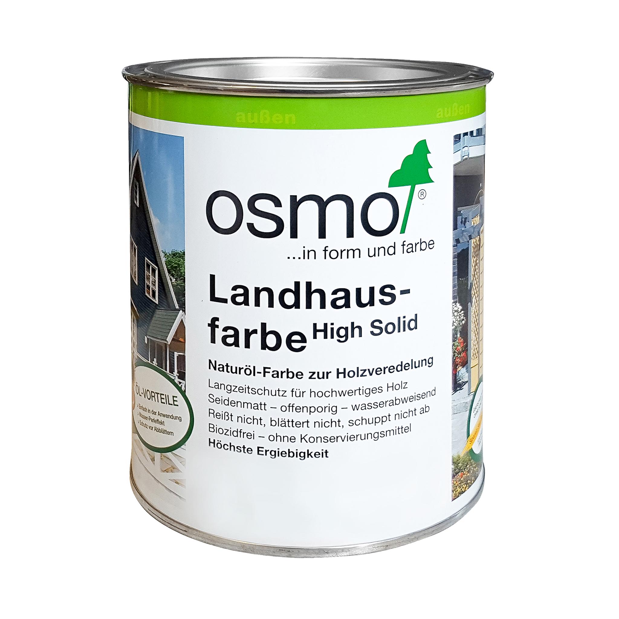 Osmo Landhausfarbe Mittelbraun 750ml