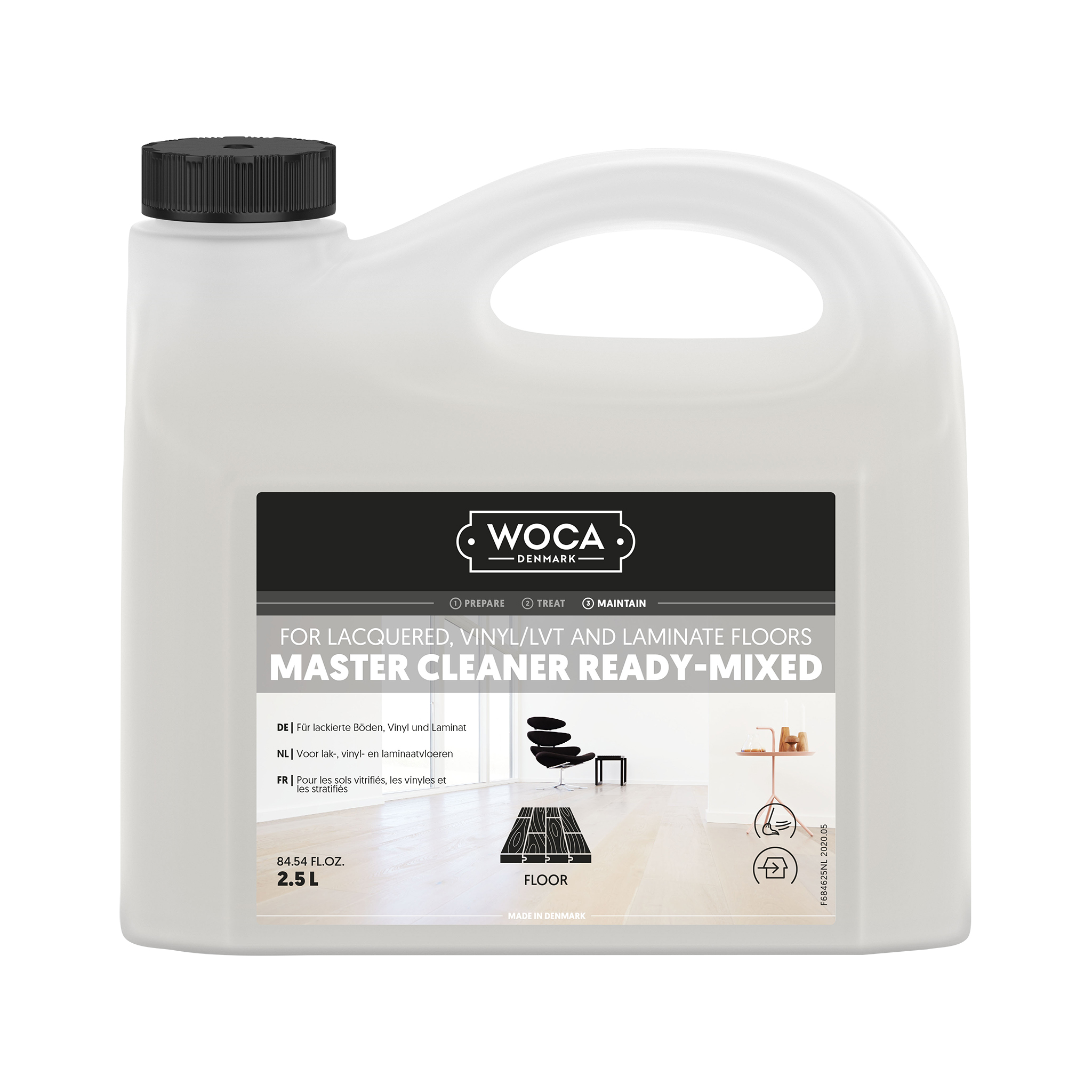 WOCA Master Cleaner Ready-Mixed 2,5 Ltr.