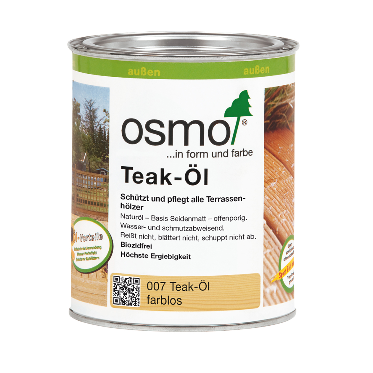 Osmo Teak-Öl farblos 750ml