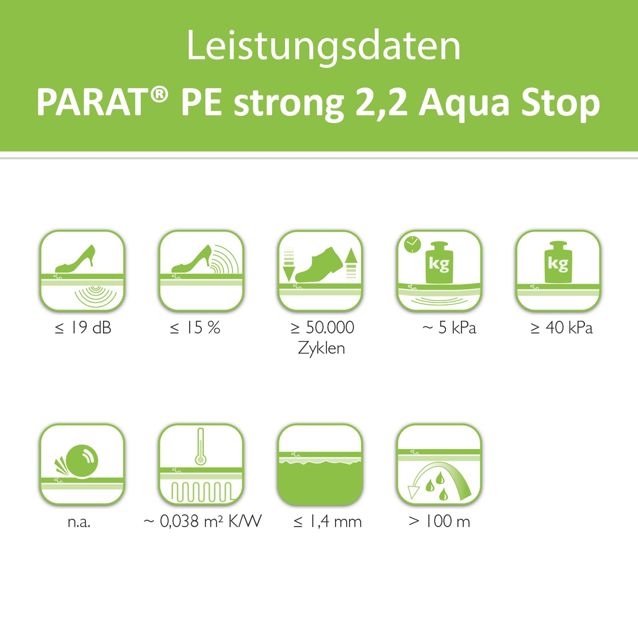 PARAT PE strong 2,2 Aqua Stop