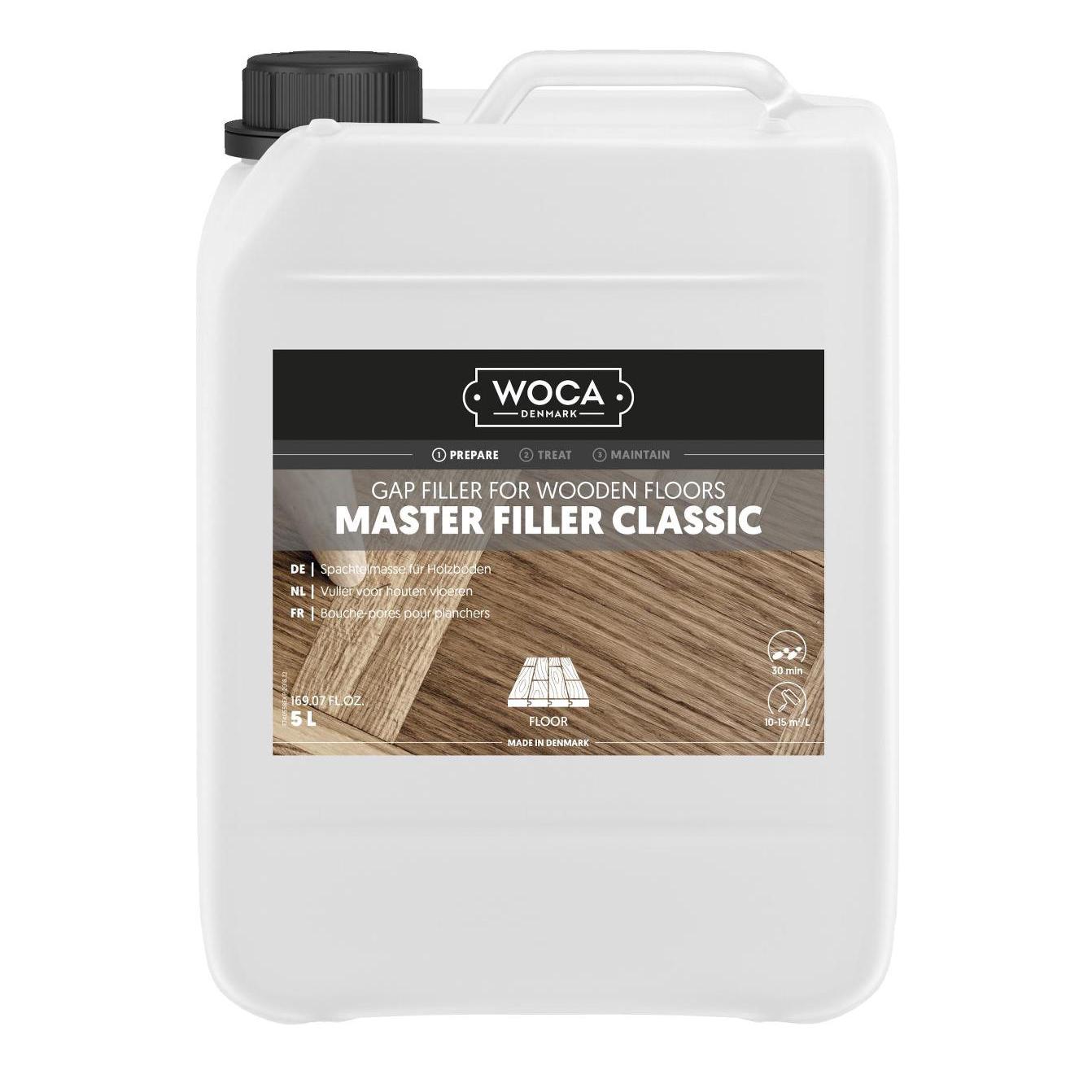 WOCA Master Filler Classic 5 ltr.