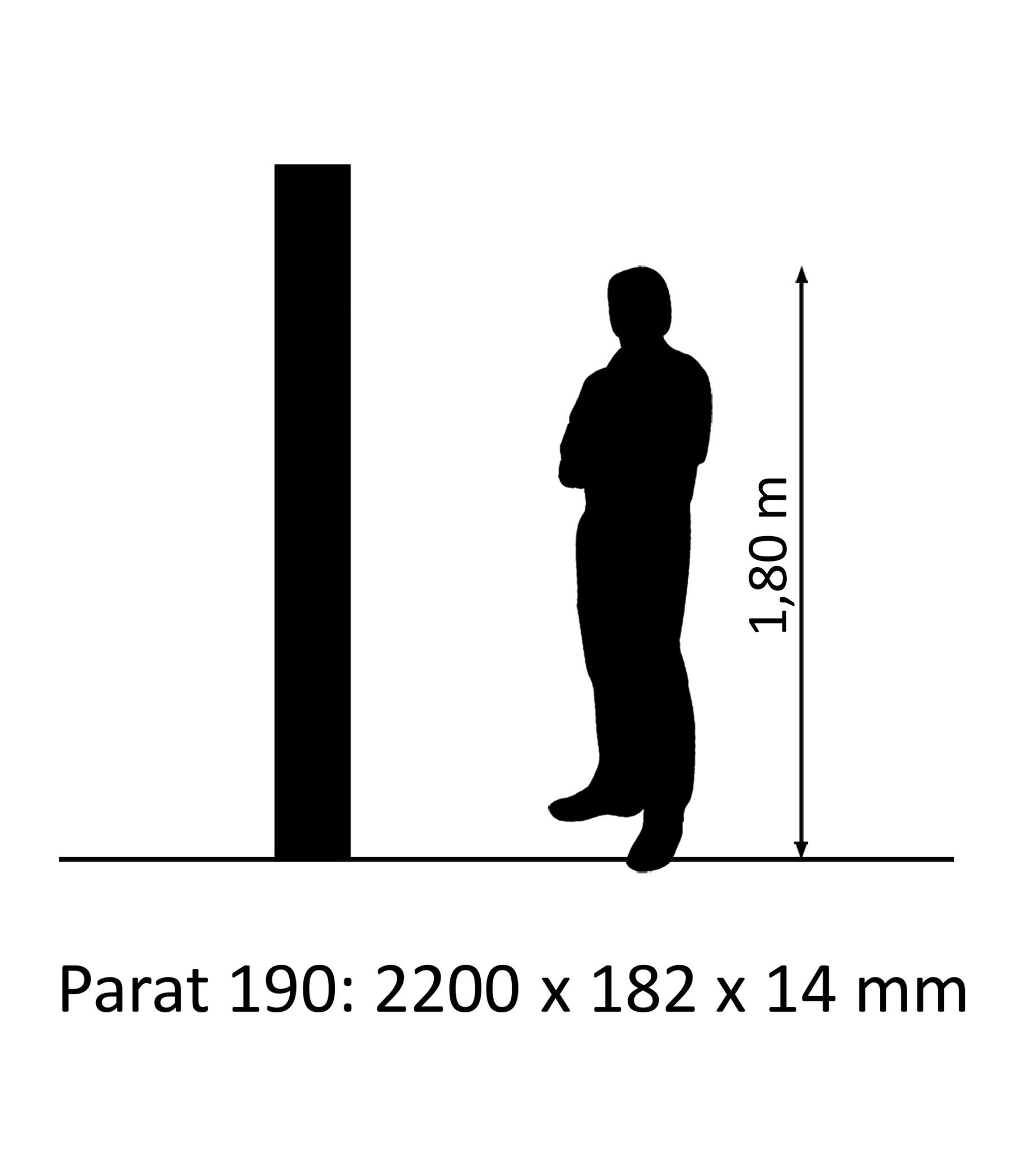 PARAT 190 Eiche Natur/Classic SB 14mm