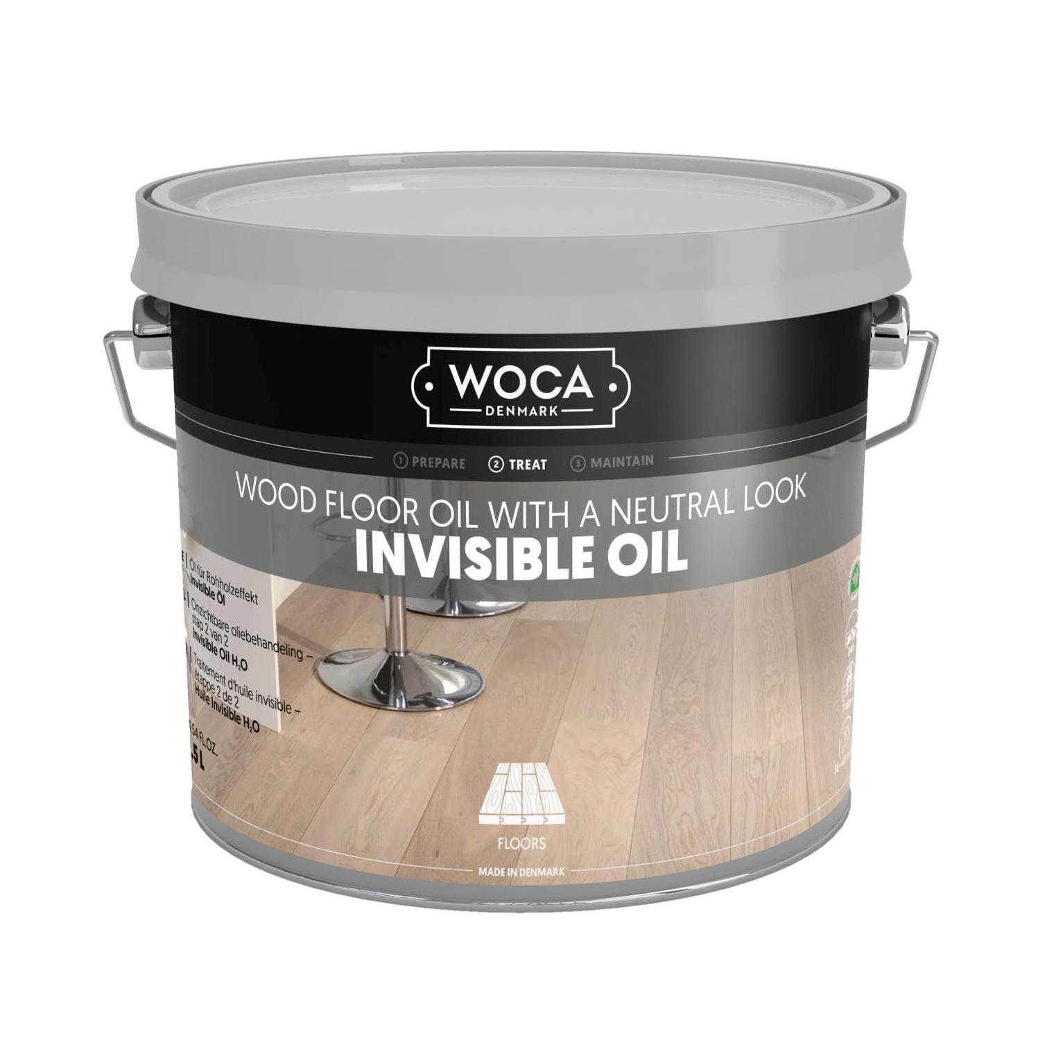 WOCA Invisible Öl 2,5 Ltr. Holzöl