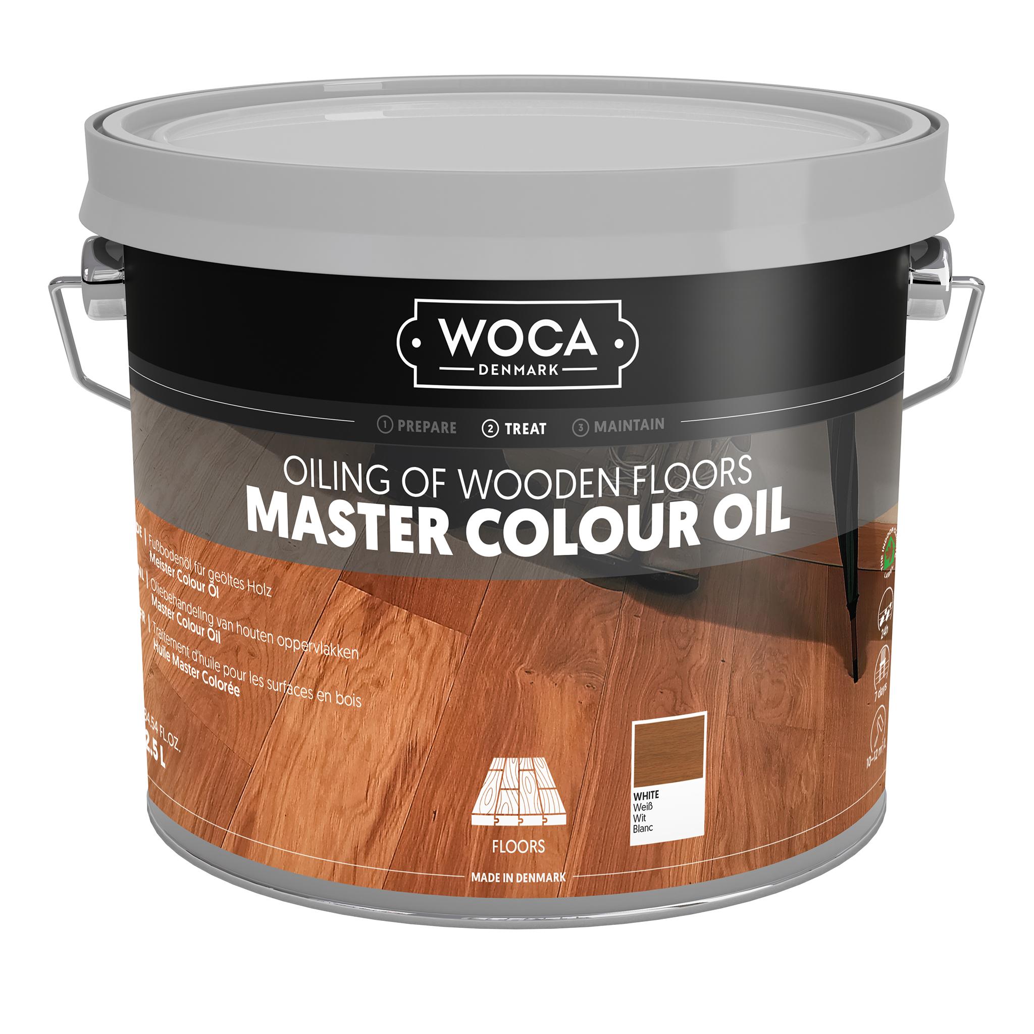 WOCA Meister Bodenöl weiß 2,5 Ltr.