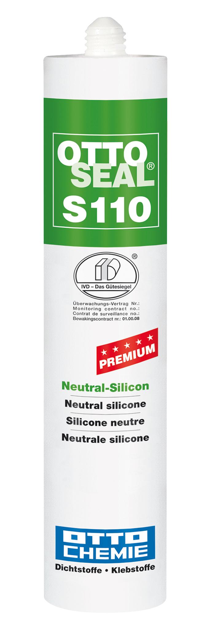Joint sealing silicone mahogany 310 ml