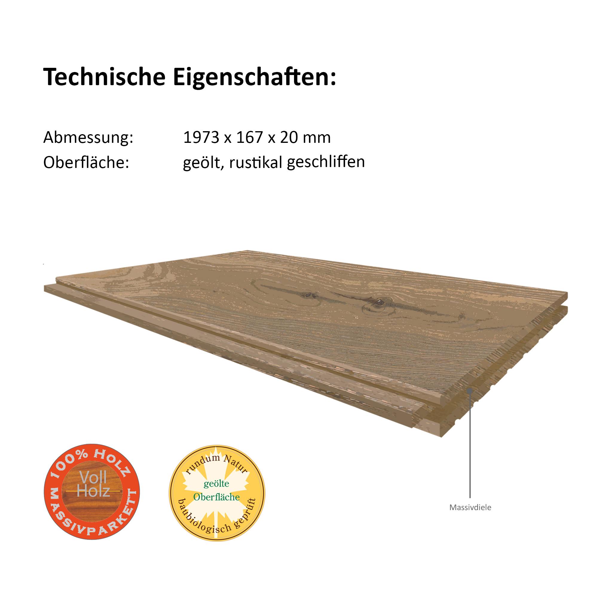 PARAT 20 imperal oak solid plank