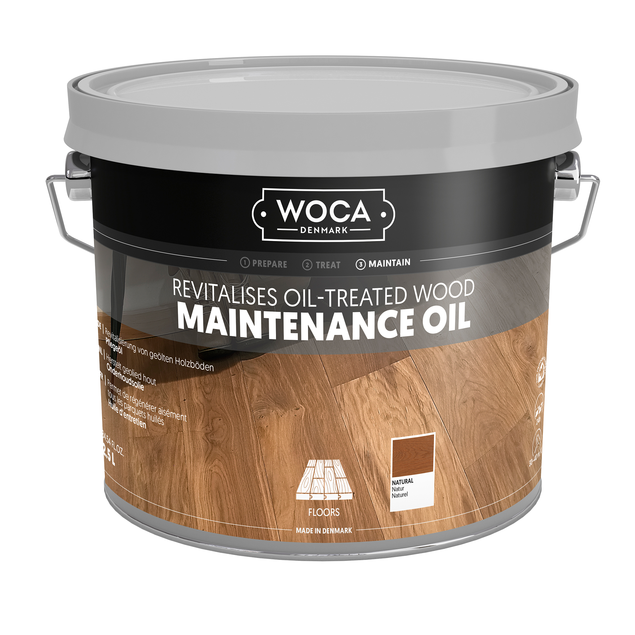 WOCA Oil Care Natur 2,5l