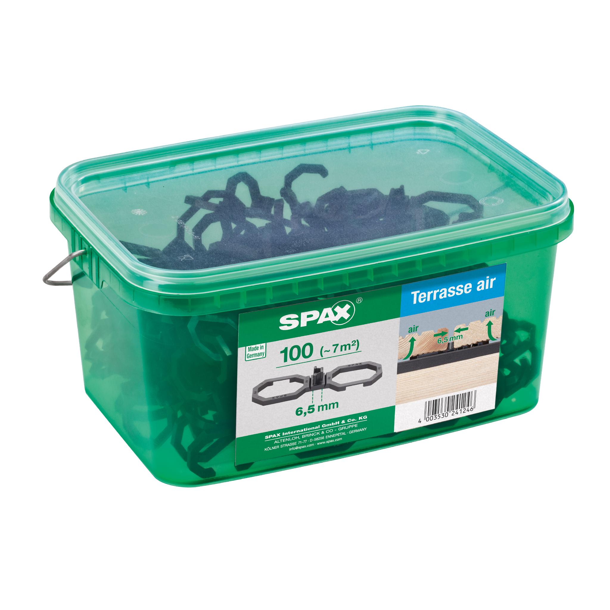 SPAX Terrasse Air Abstandshalter 6,5mm