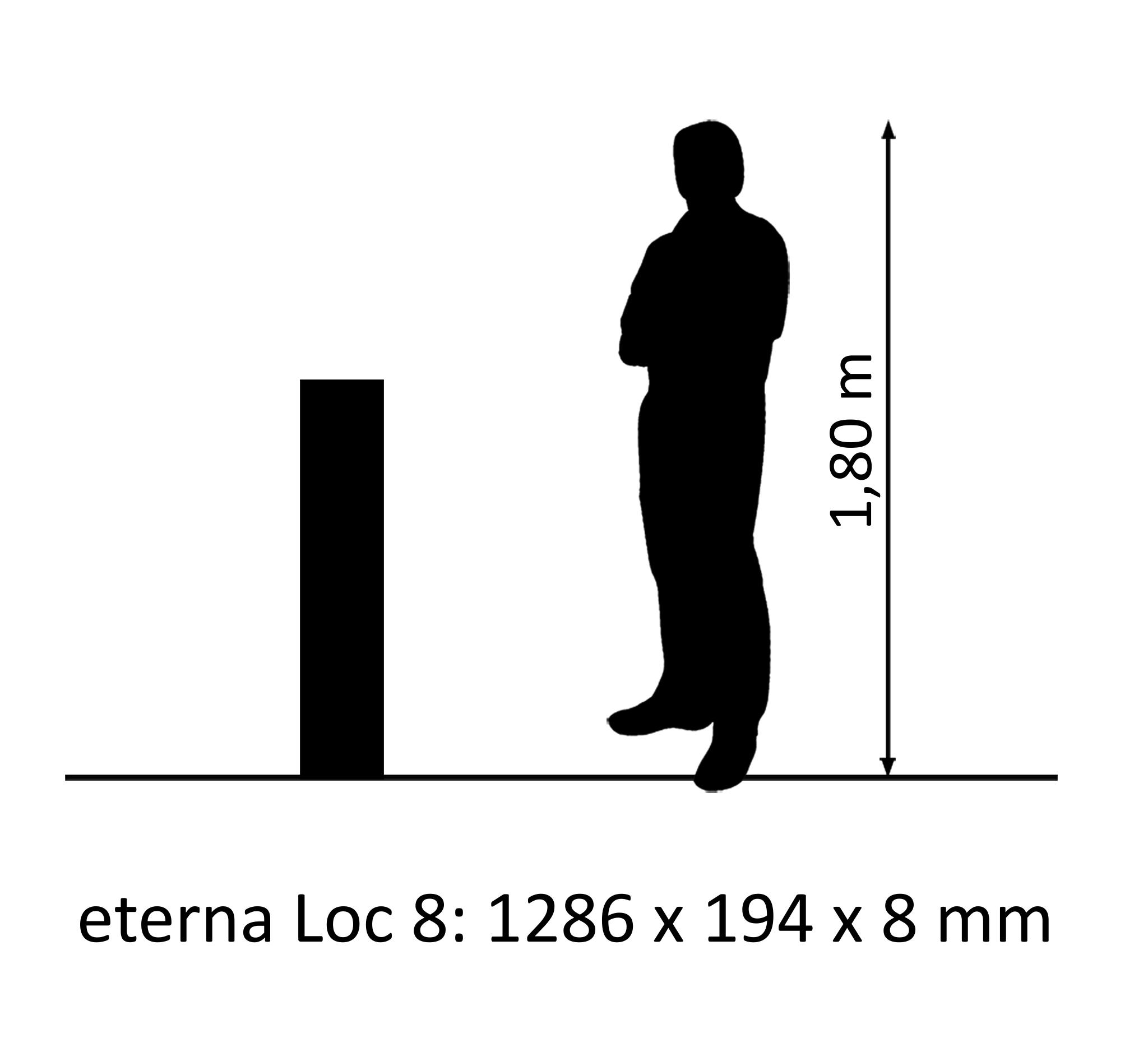 eterna Loc 8 V-Fuge Eiche AuthenticNatur
