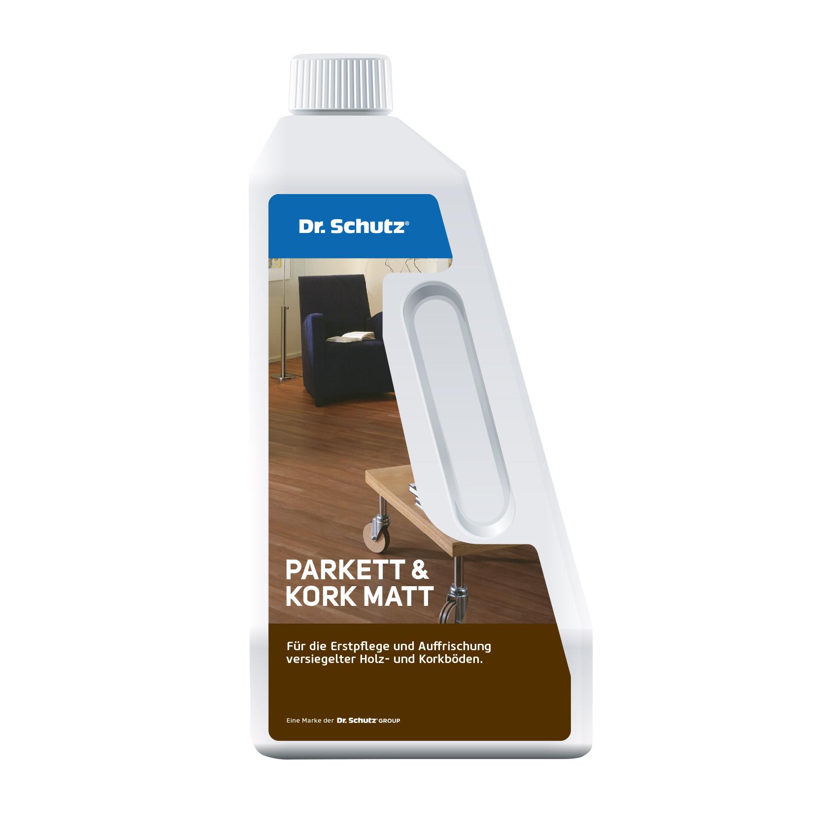 Dr. Schutz Parkett & Kork Reiniger matt