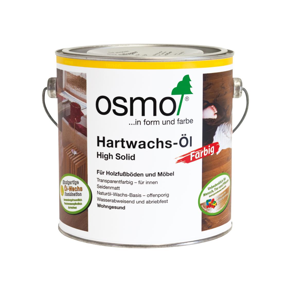 Osmo Hartwachsöl Weißgrund 2,5 Ltr.