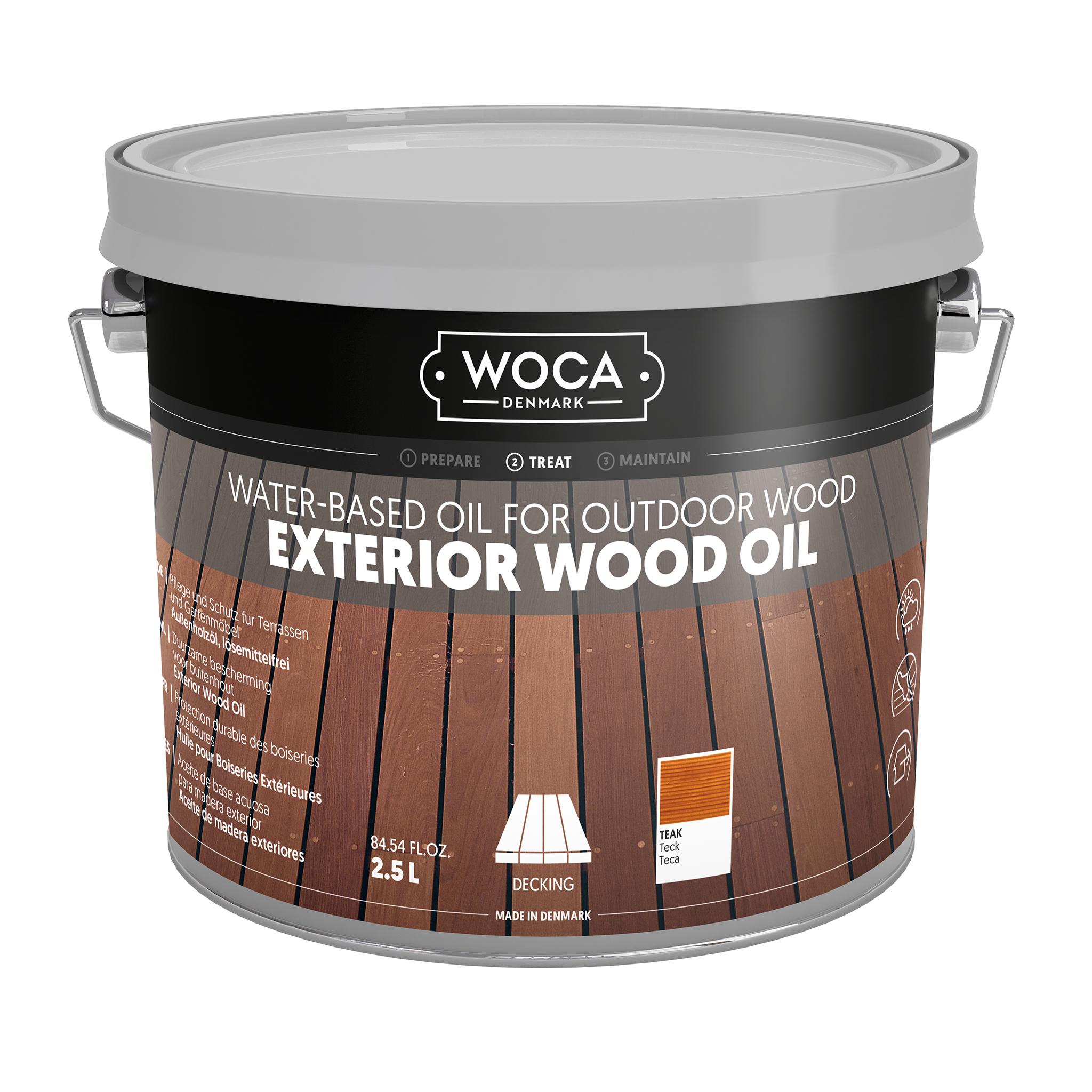WOCA Exterior Oil Teak 2,5 L