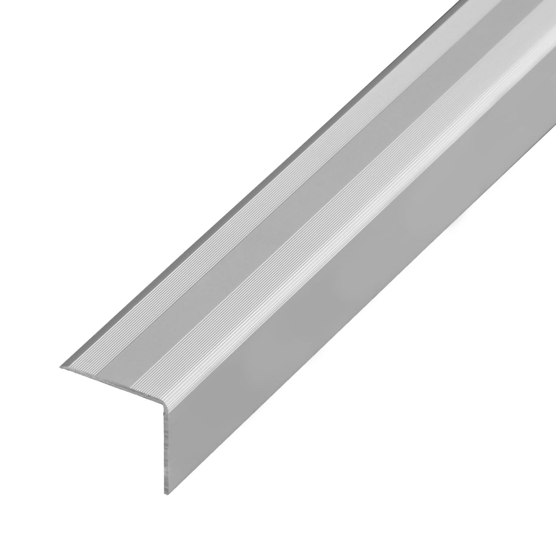Winkelprofil 1,00m Alu Silber