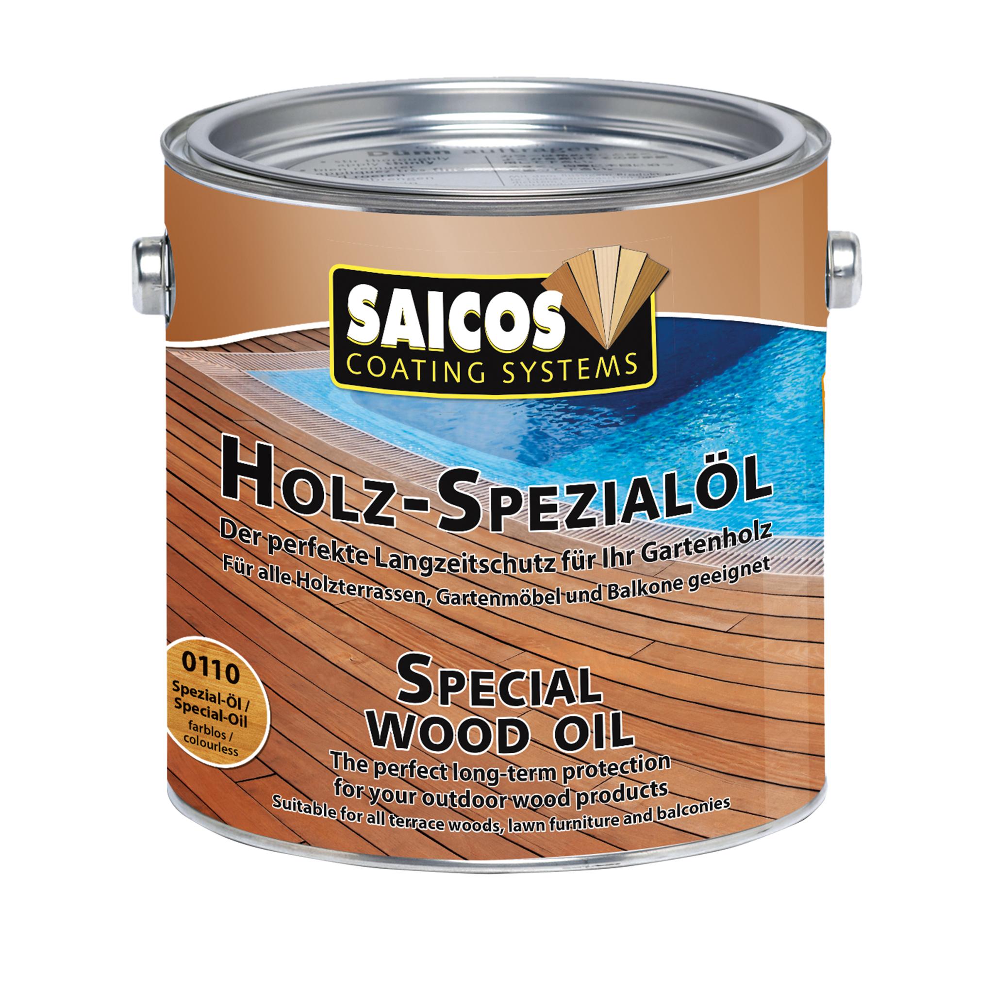 SAICOS Holz-Spezialöl farblos 2,50 Ltr.