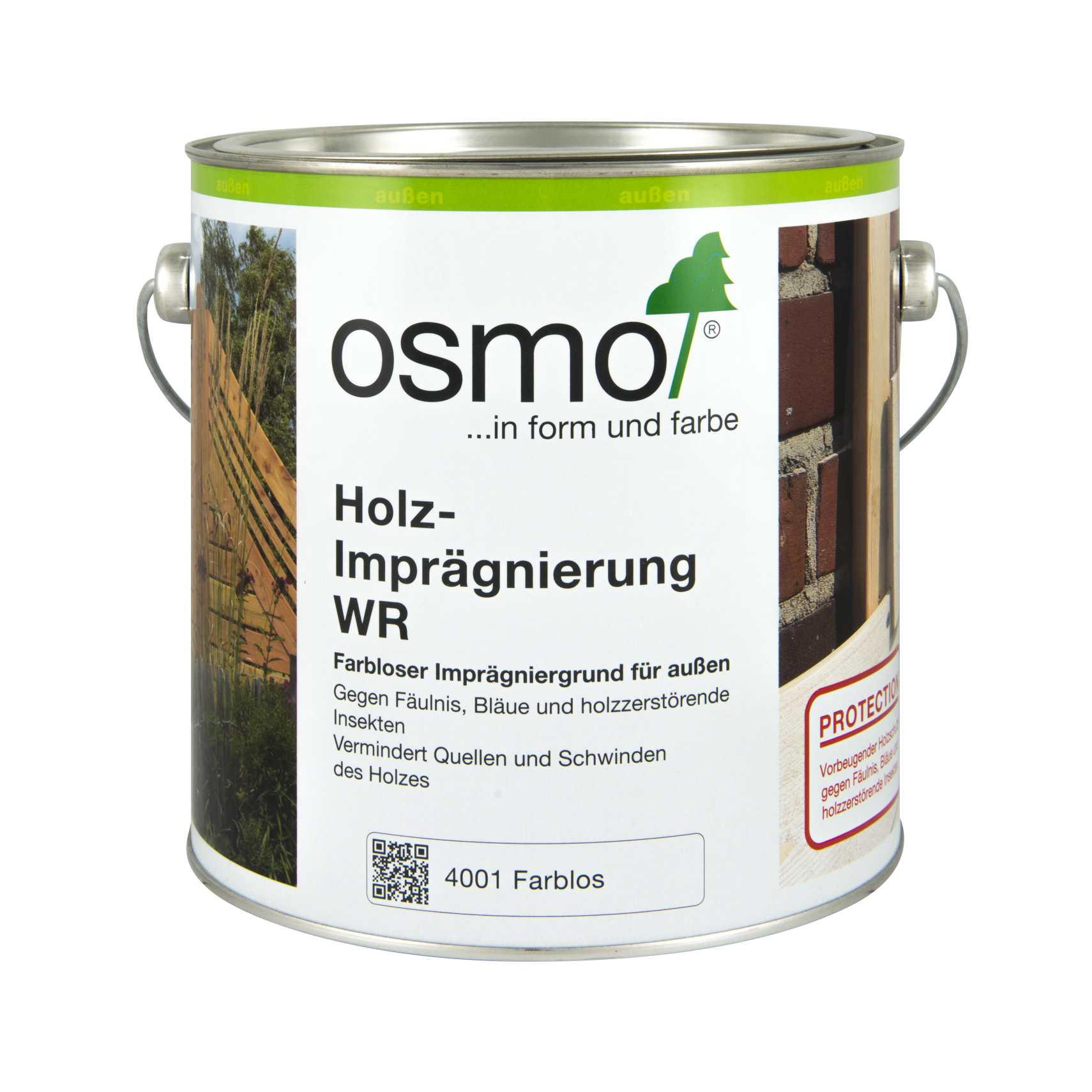 Osmo impregnation colorless 2,5 Ltr.