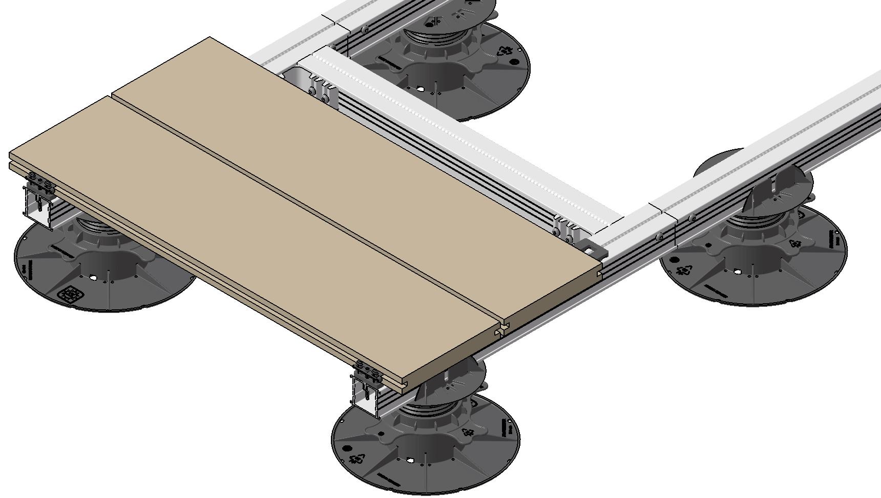 ALUecofix L 45x38mm blank 4m