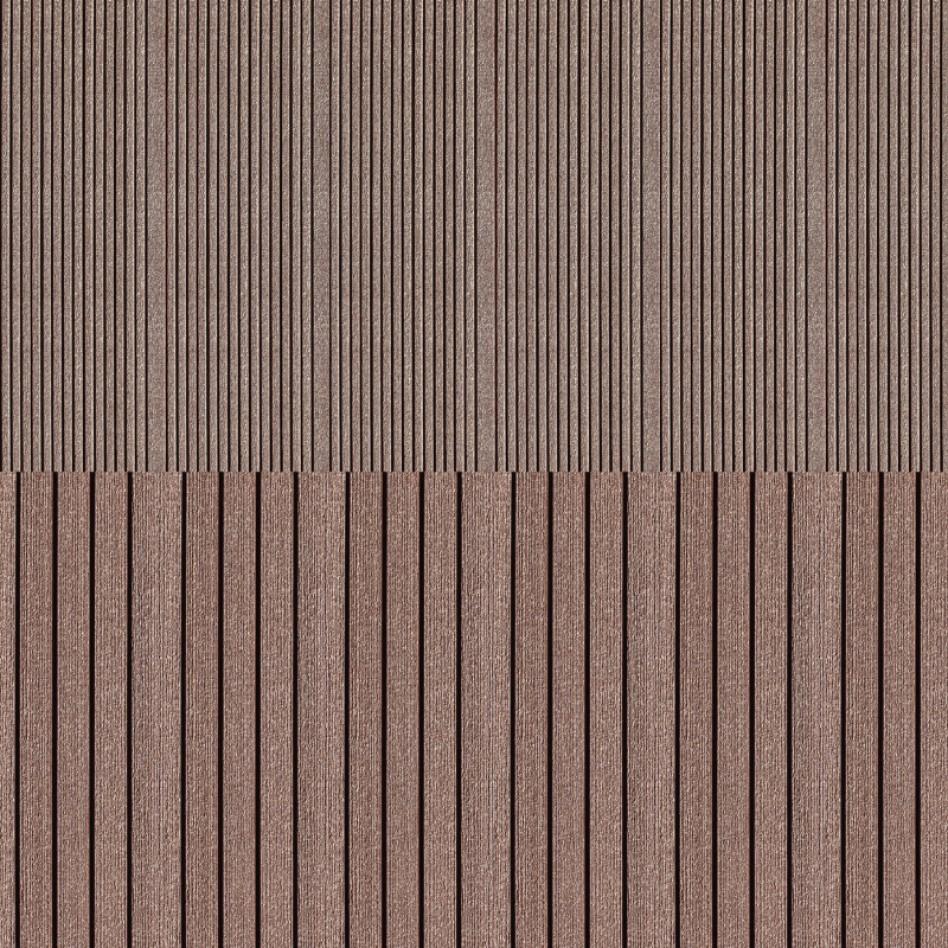 DIE KOMPAKTE WPC solid-plank brown