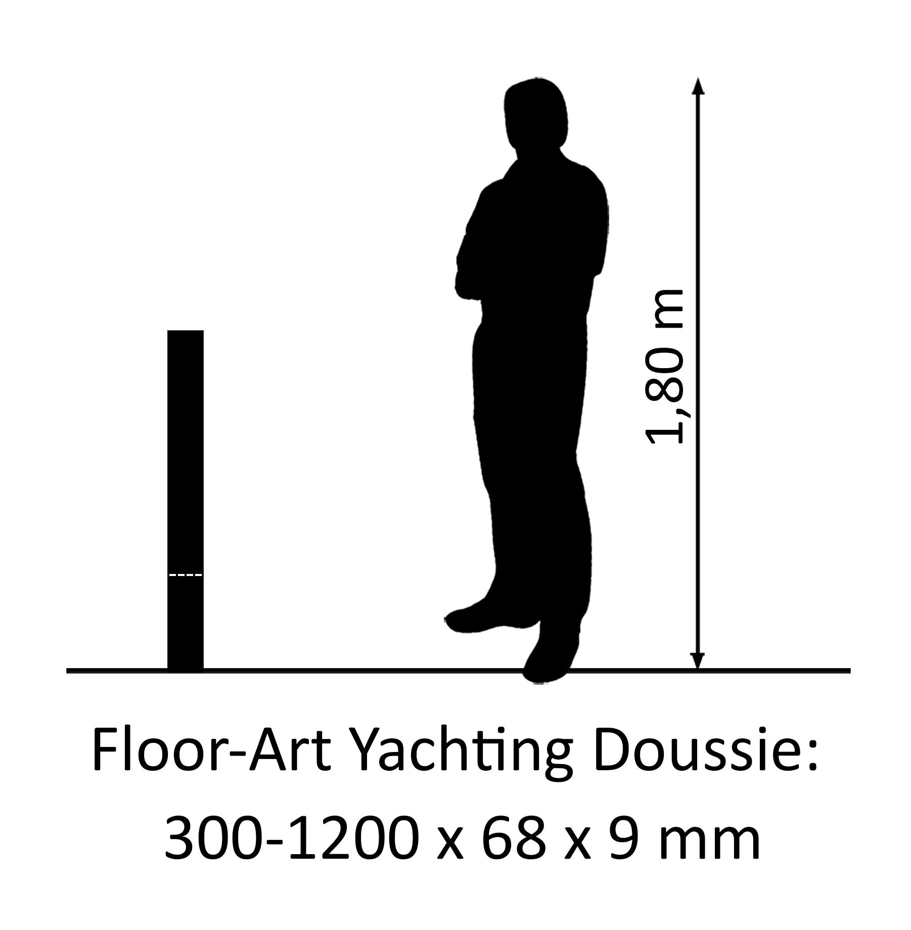Floor-Art Yachting afrikanische Doussie