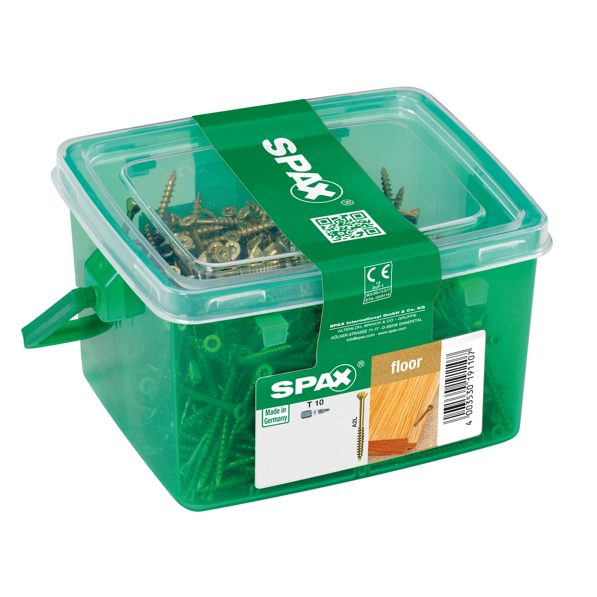 SPAX Dielenschraube 4x70mm