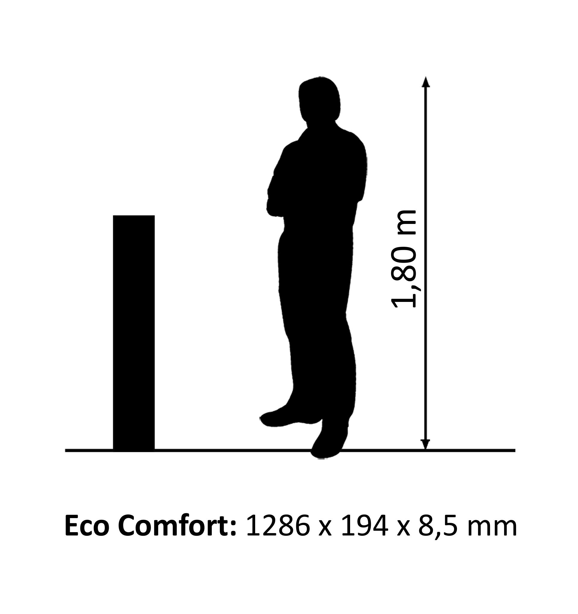 Eco Comfort Wallies Eiche design floor