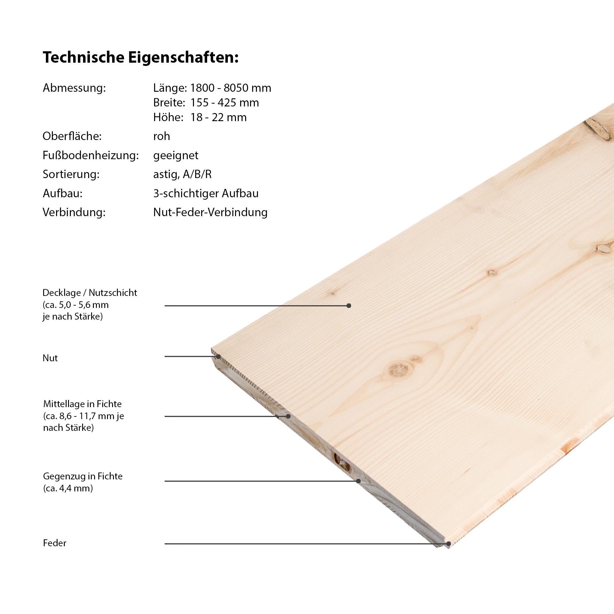 Floor-Art Largo XXL Ash raw long plank