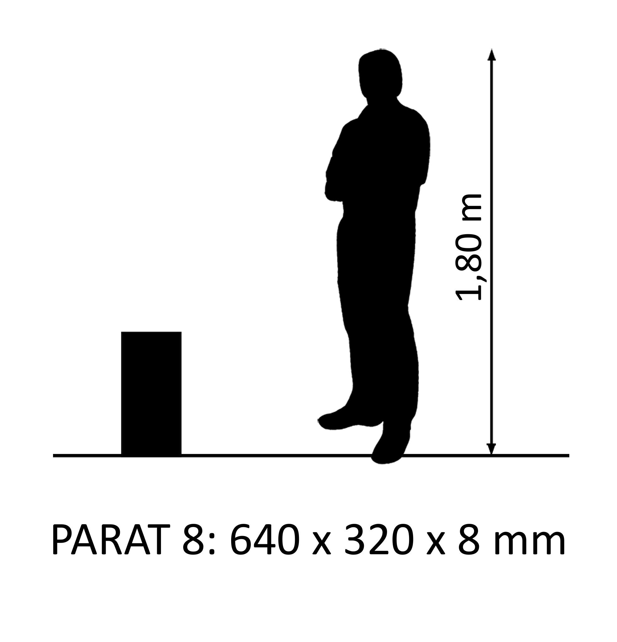 PARAT 8 Dub Rustikal 8mm