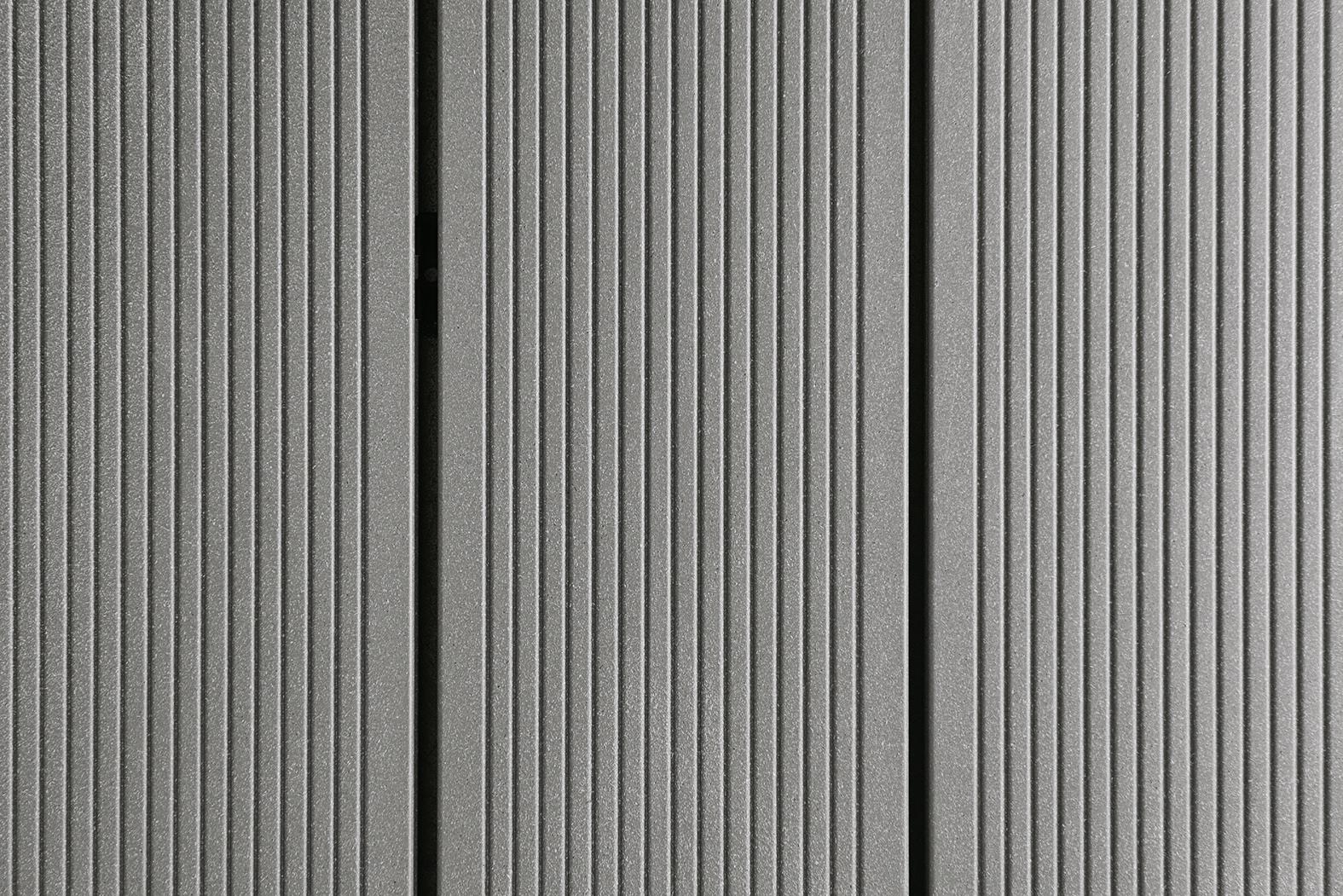 DIE KERNIGE WPC Massivdiele Grau