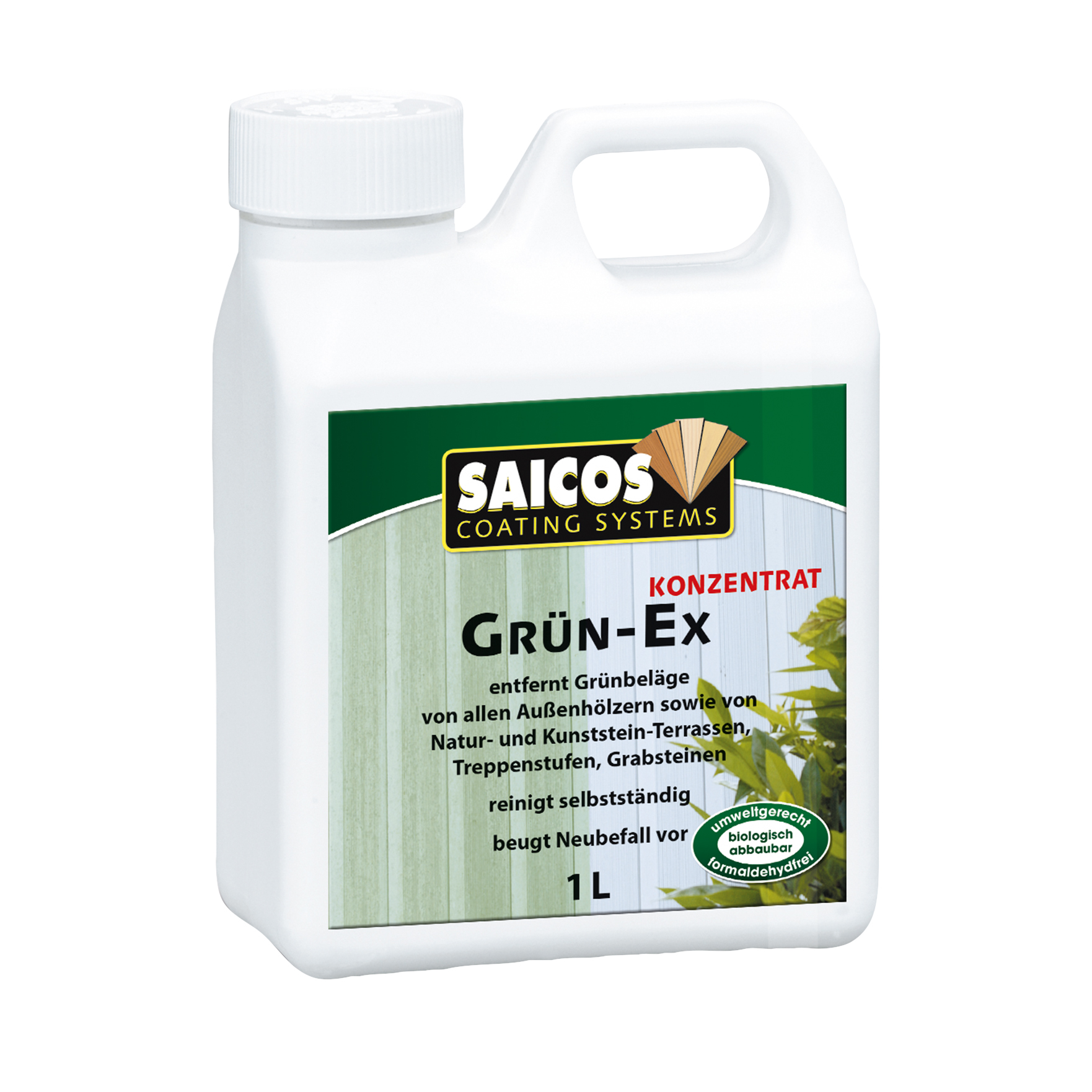 SAICOS wood-green-ex concentrate 1 ltr.