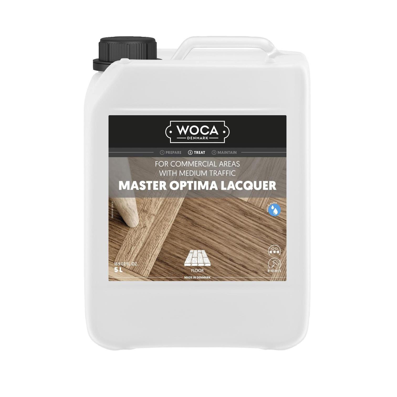 WOCA Master Optima 5 Ltr. Glänzend