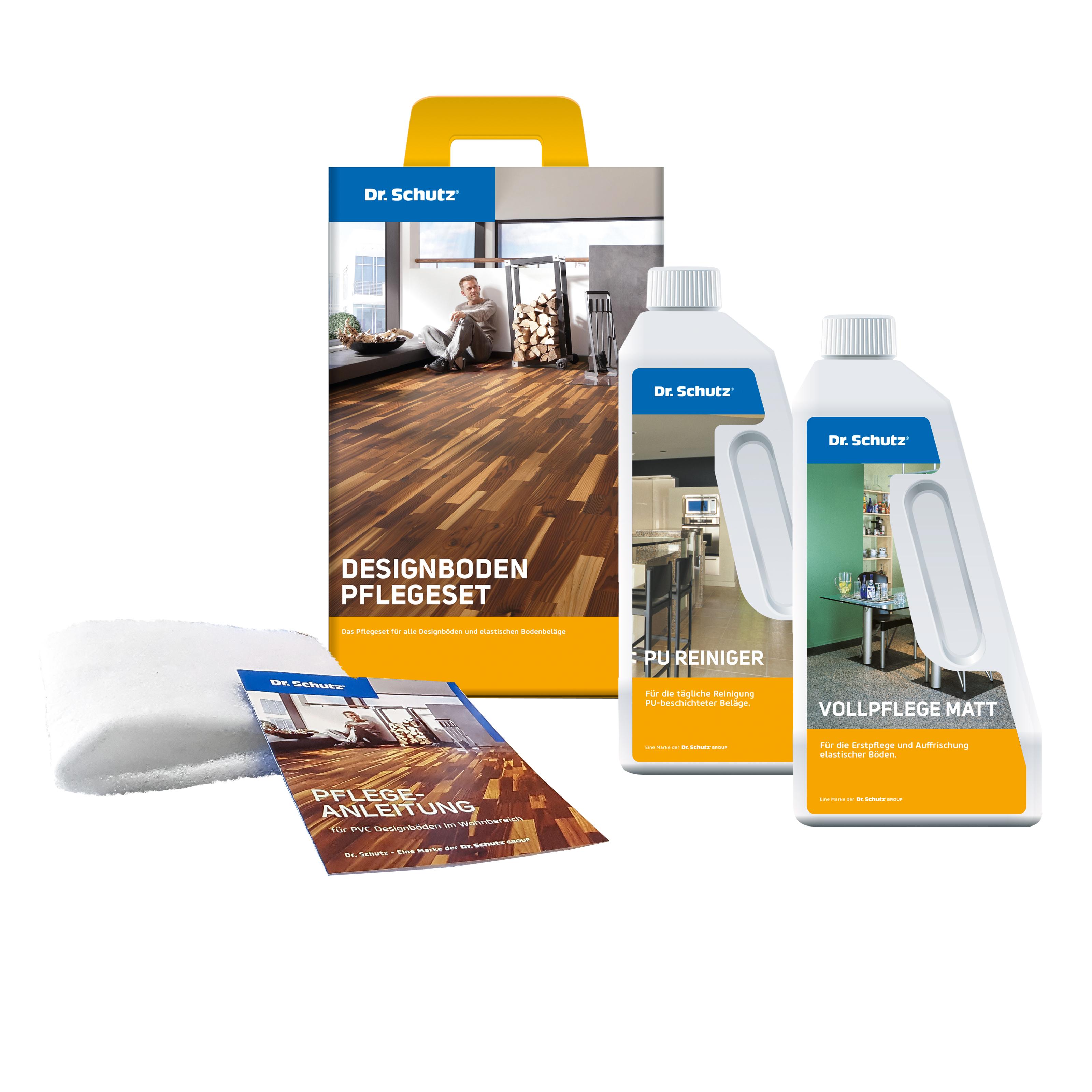 Dr. Schutz CC-PVC-Designboden-Pflegeset