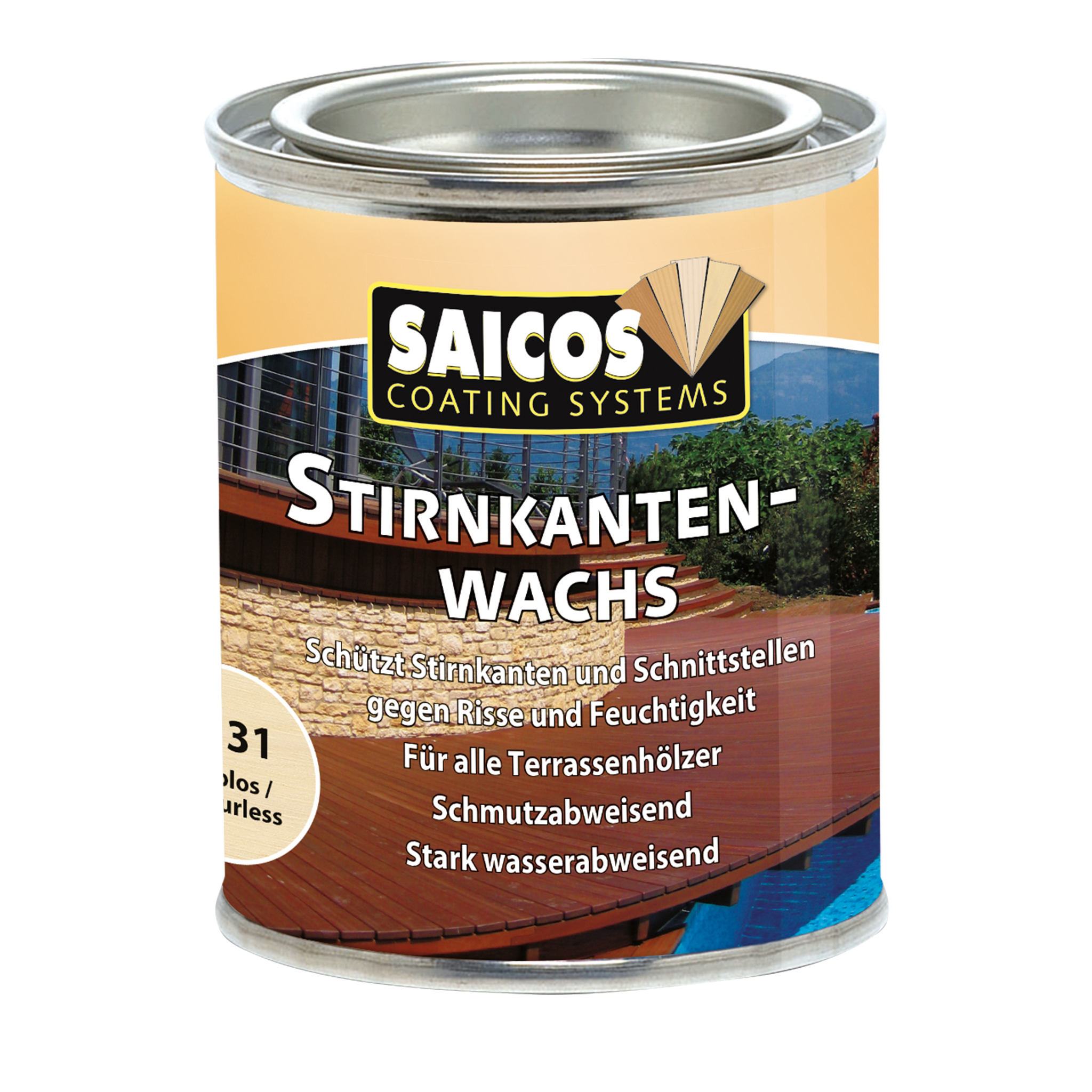 SAICOS end-grain sealing wax 125ml