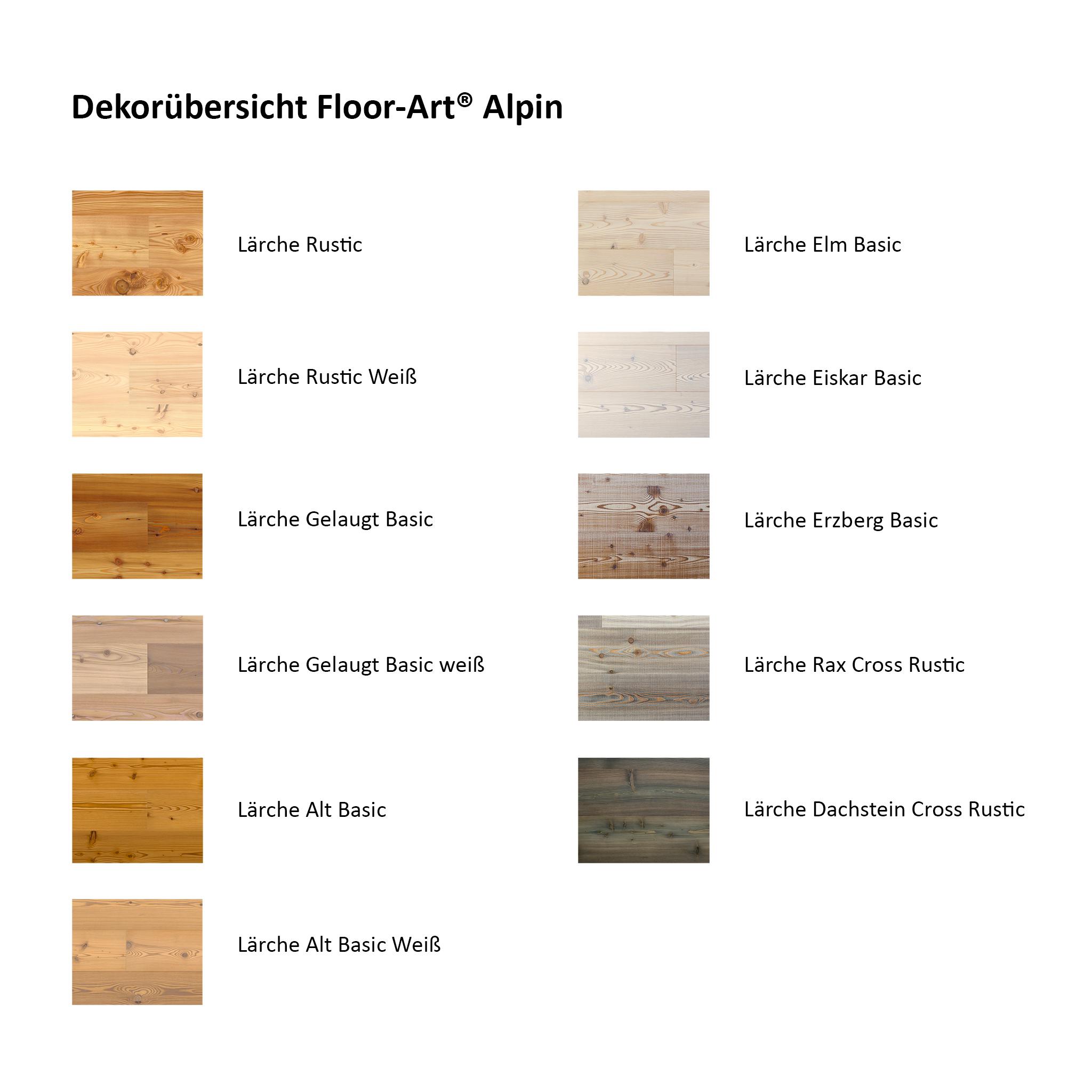Floor-Art Alpin Lärche alt Basic geölt