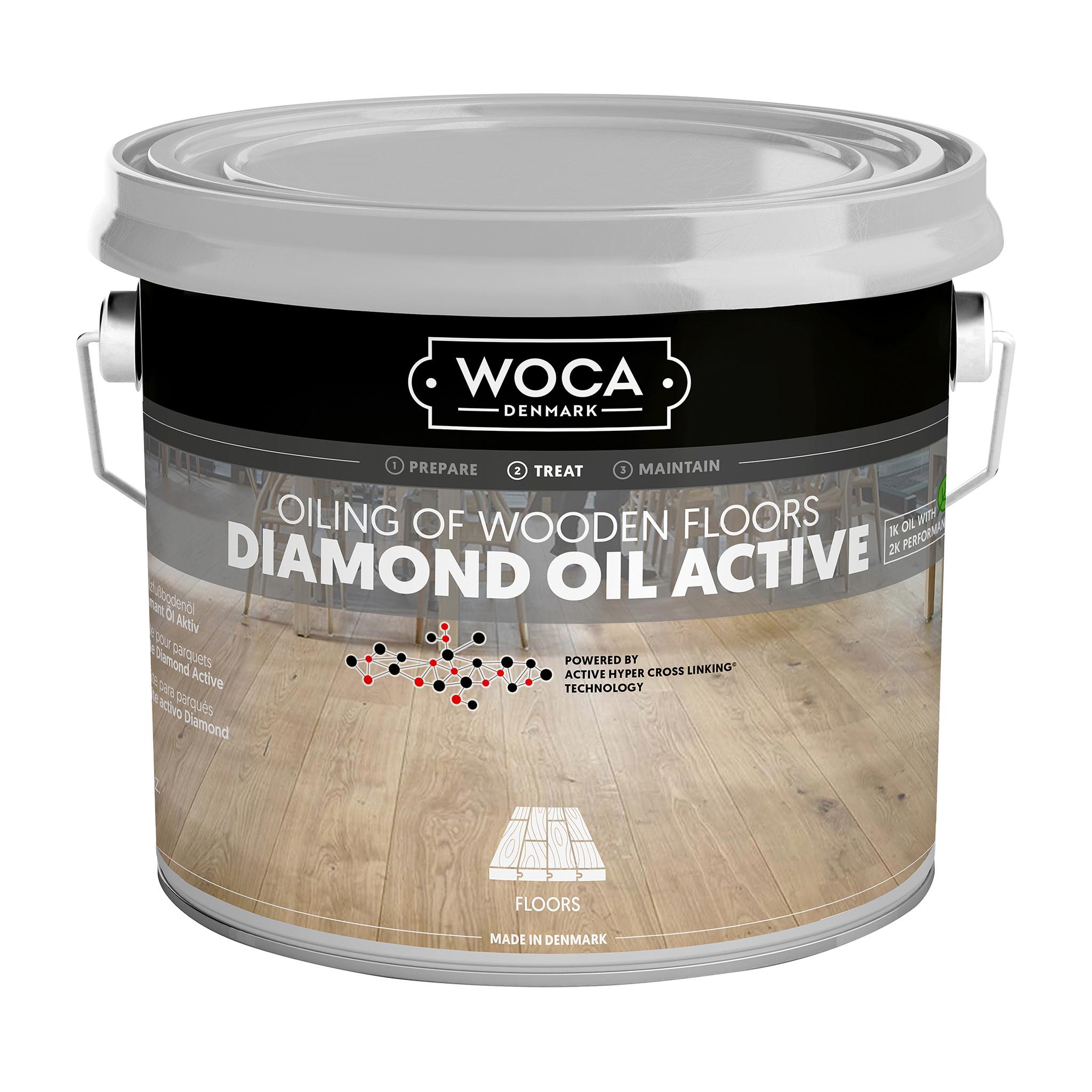 WOCA Diamond oil activ wood oil 2,5 Ltr.