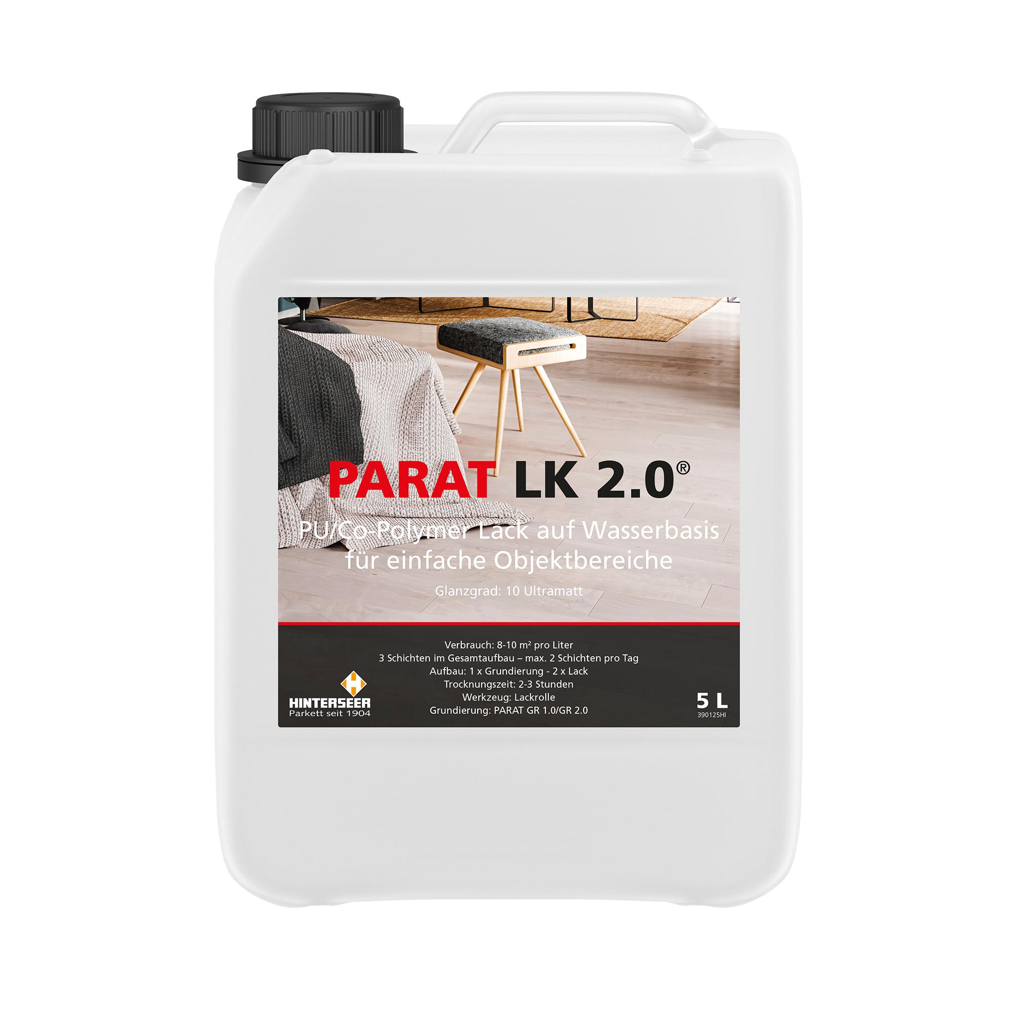 PARAT LK 2.0 parquet lacquer 5 Ltr.