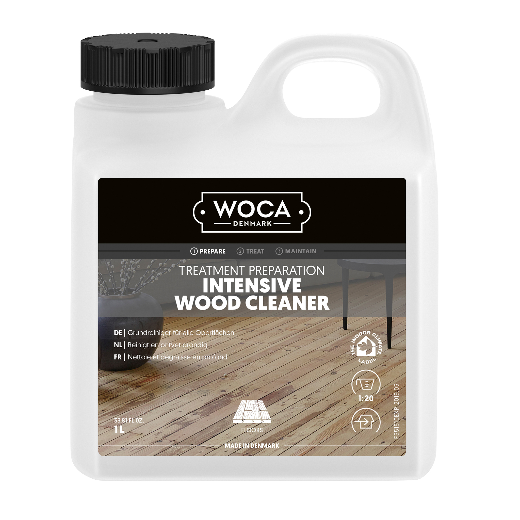 WOCA intensiv-cleaner 1 Ltr.