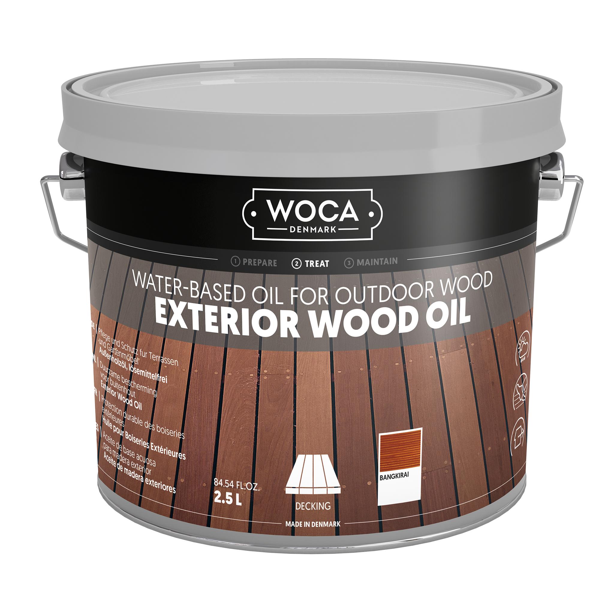 WOCA Exterior Öl Bangkirai 2,5L